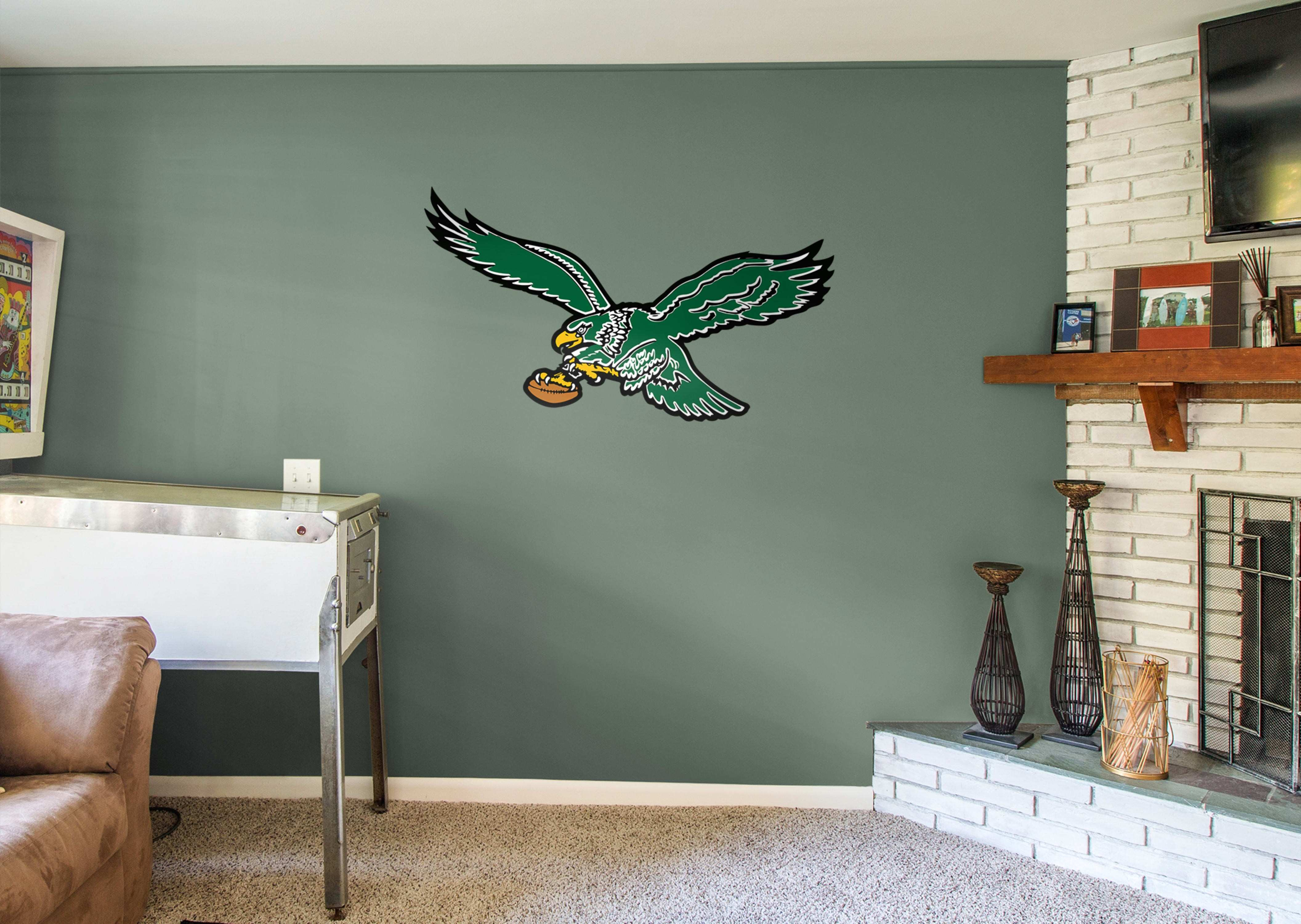 Philadelphia Eagles Classic Logo Wall Decal