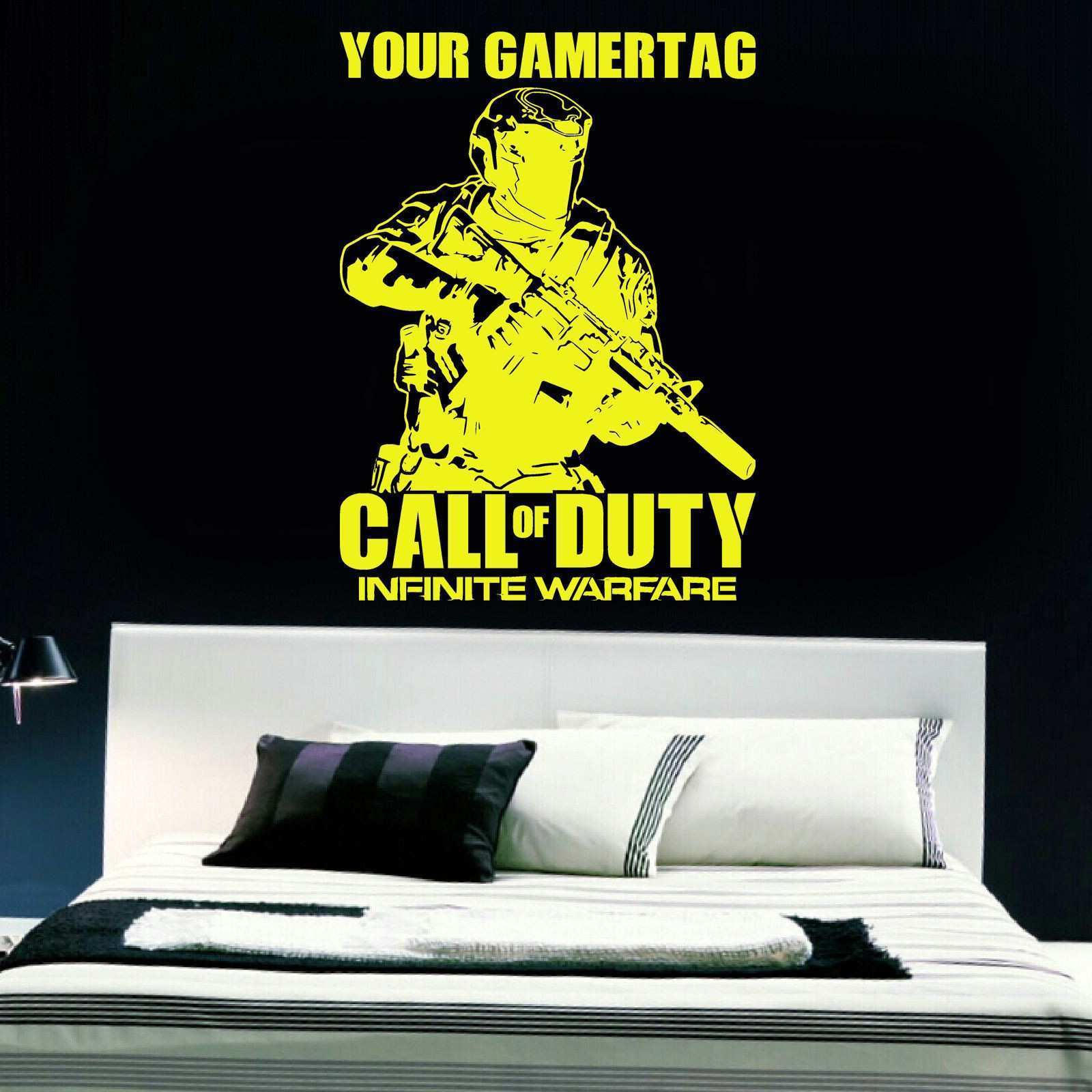 Call of duty Infinite Warfare Vinyl Wall Art Decal WALL STICKERS