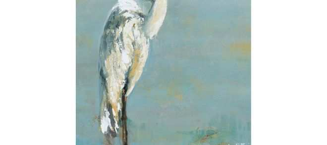 Wall Art Canvas Elegant Herons I Canvas Wall Art Pinterest
