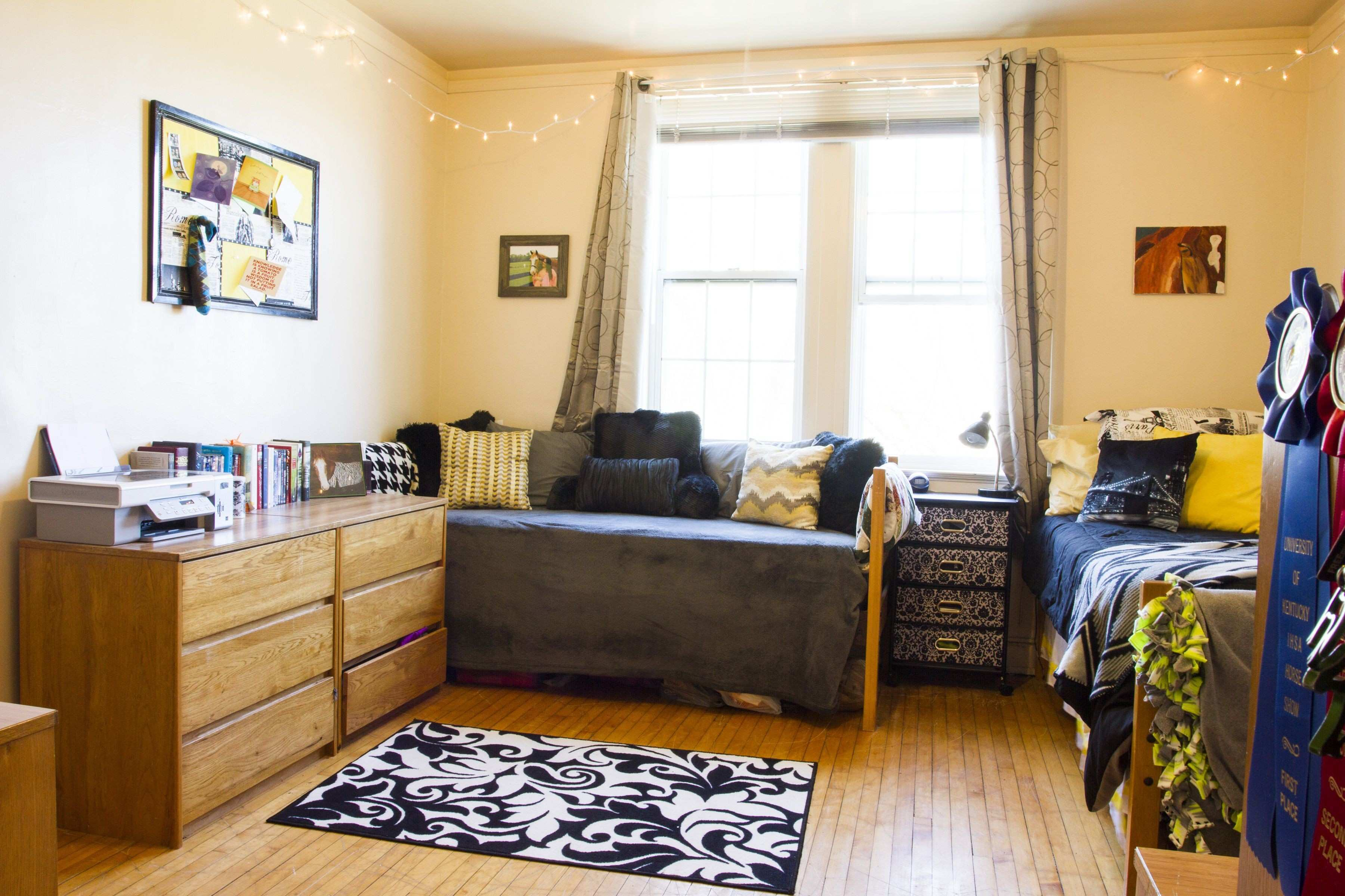 College Living Room Decorating Ideas New An Example Dorm Room