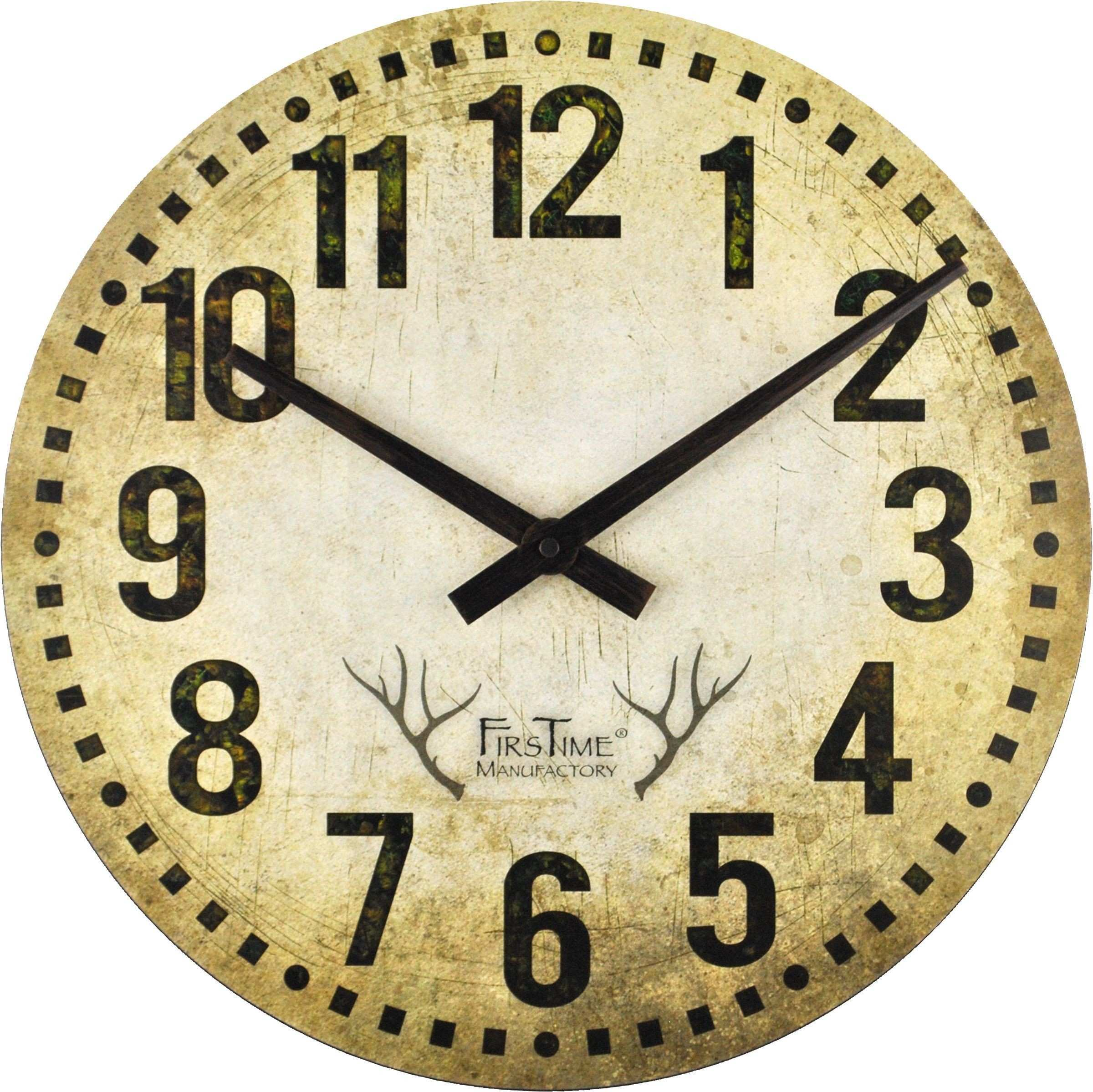 FirsTime Camo Restoration Wall Clock Products Pinterest