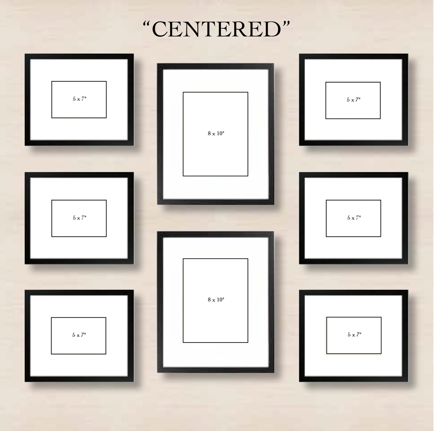 Erfreut Picture Frame Collage Template For Wall Ideen Rahmen Ideen