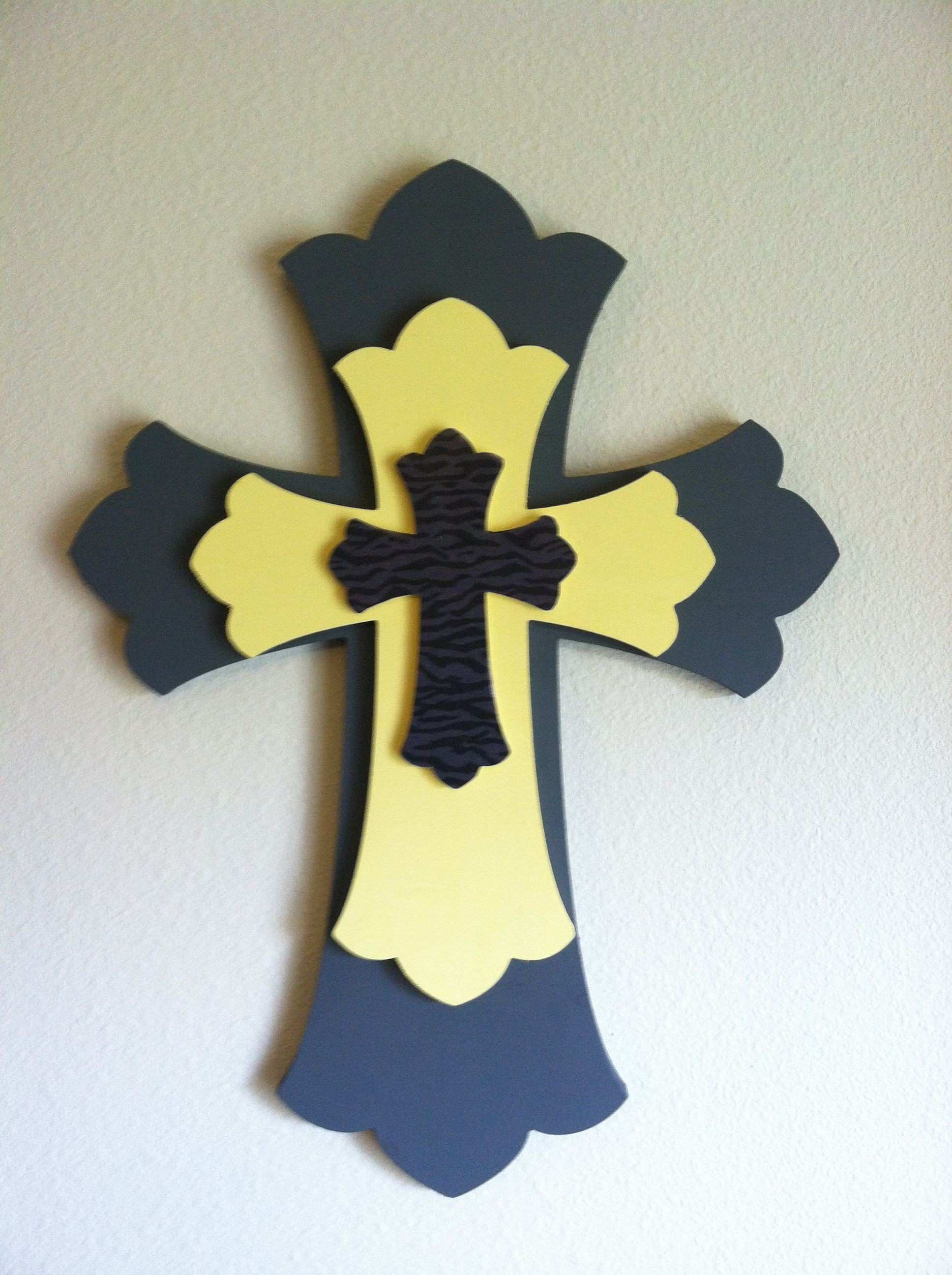 Wall Crosses Decor Luxury Diy Cross for the Home Pinterest | Wall ...