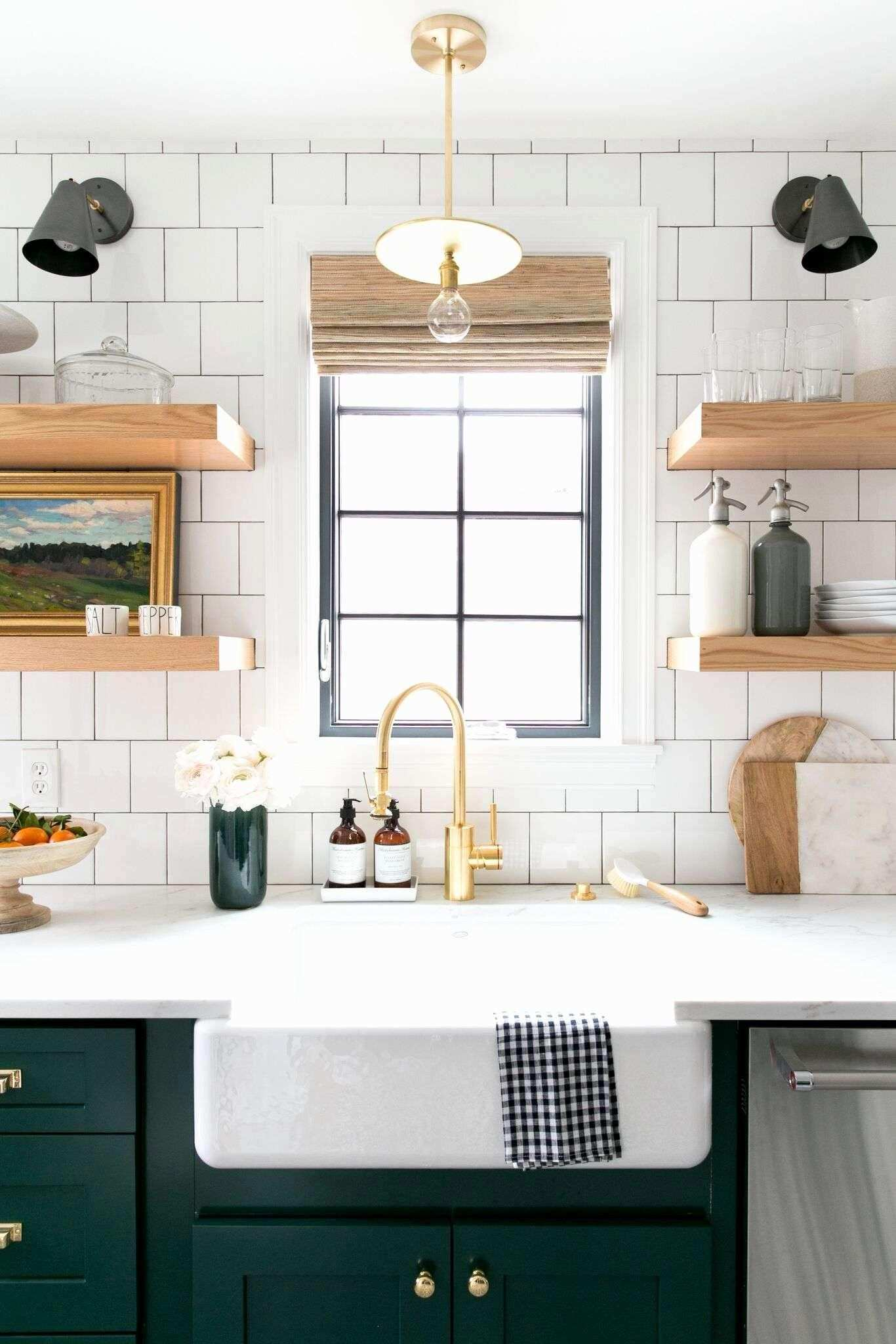 Adding Crown Molding to Kitchen Cabinets before after Beautiful Wall