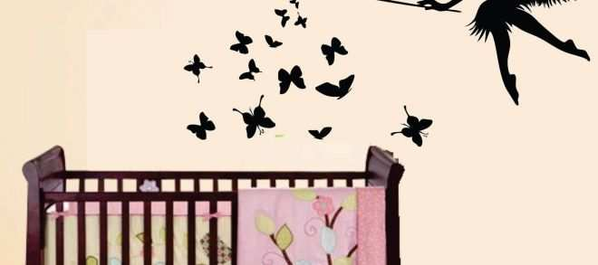 Wall Decals for Boys Room Lovely Vinyl Wall Decal Baby Nursery Kids Room butterfly Fairy 0265
