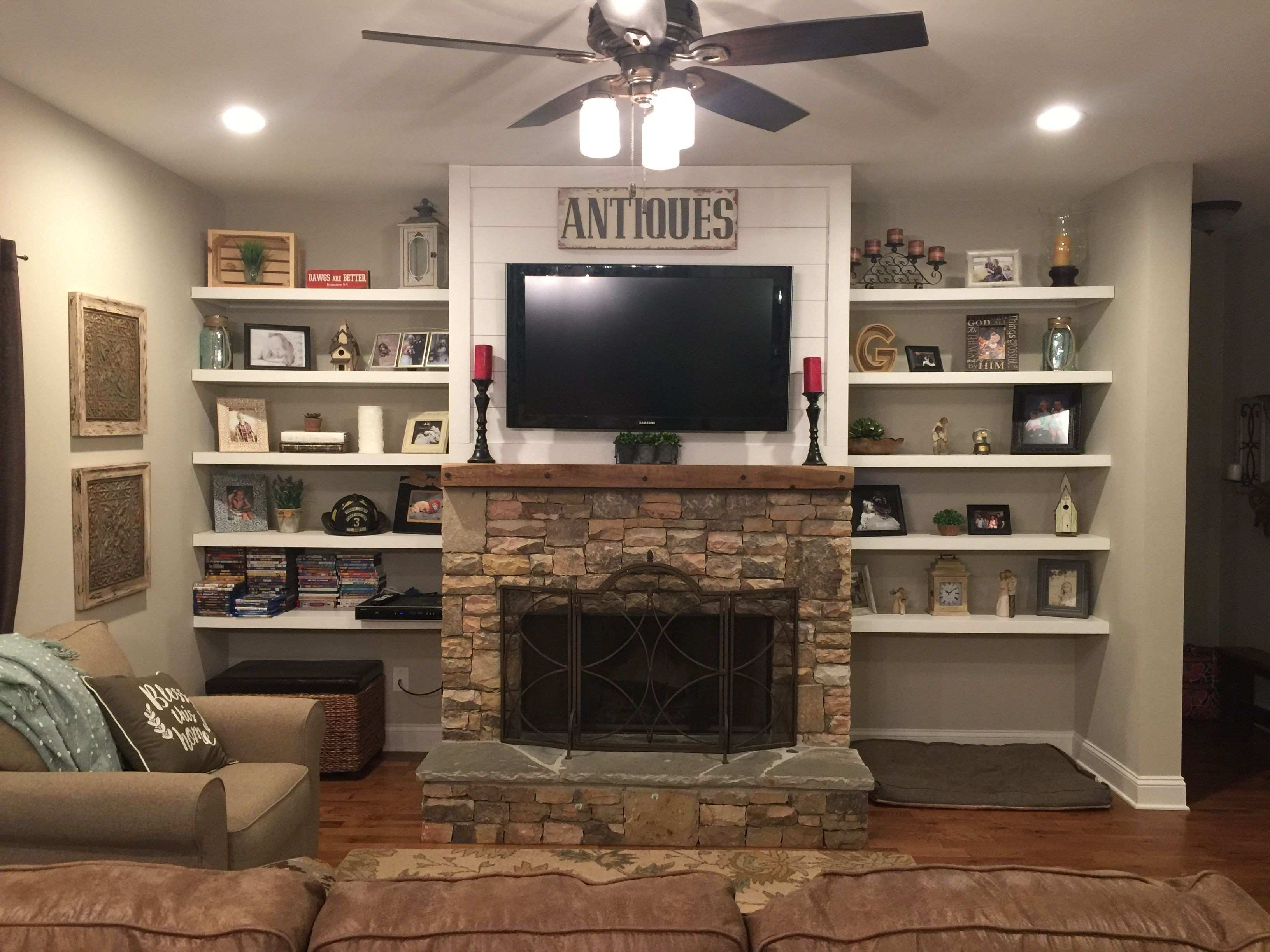 Wall Decor Fireplace Unique Family Room with Fireplace and Tv