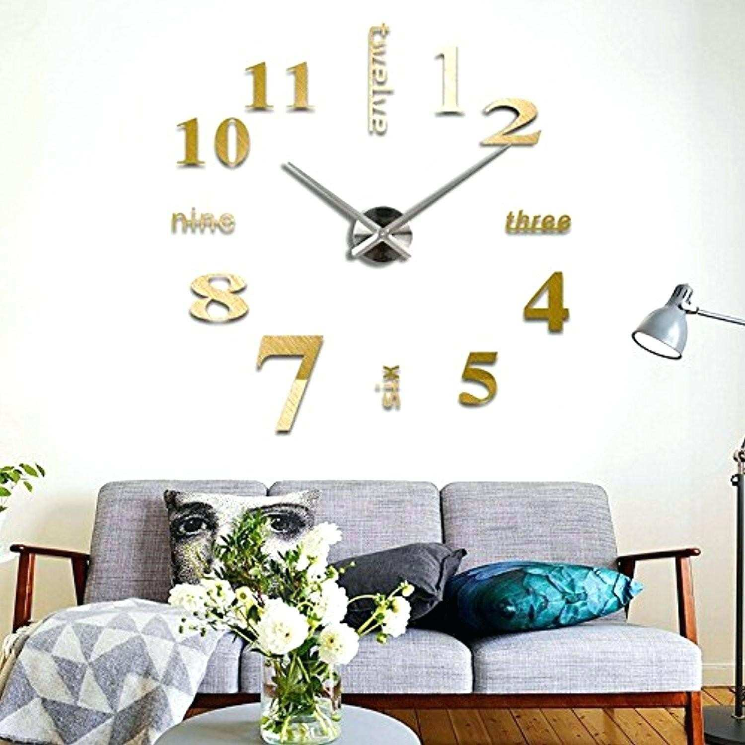 Smartly Home Wall Decals Wall Clock Home Decoration Ward Log Homes