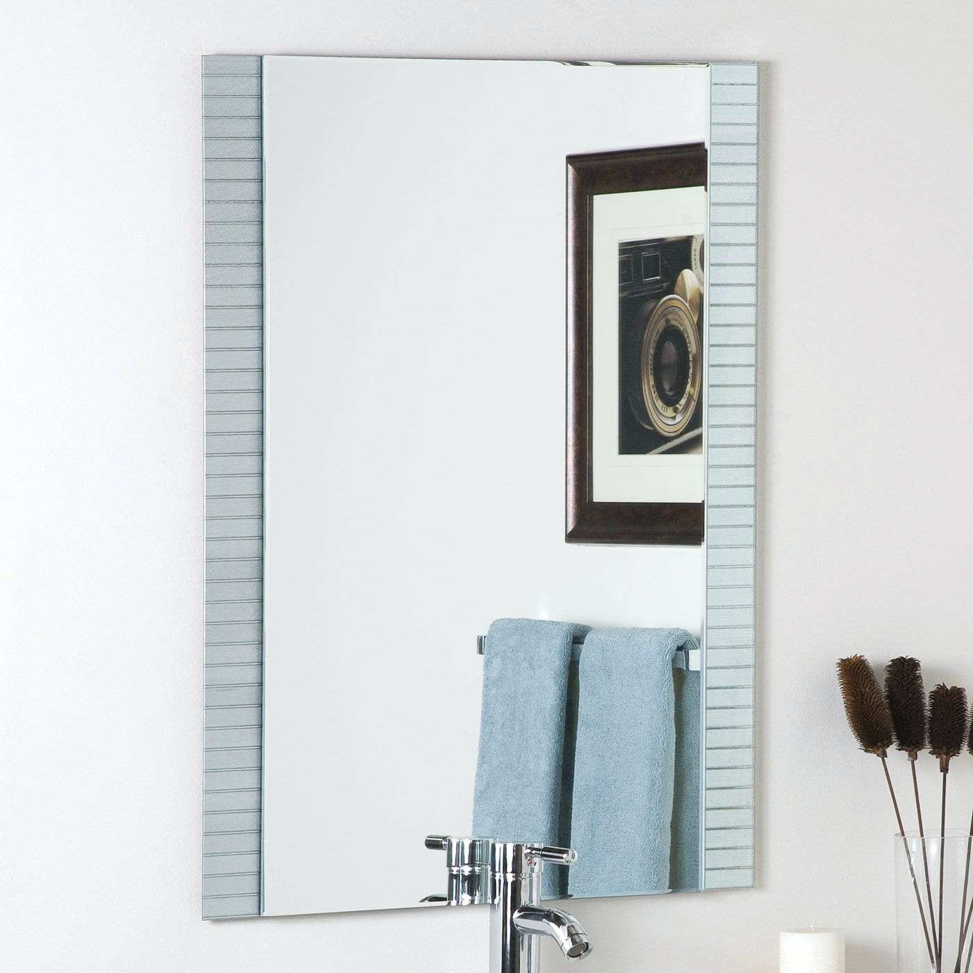 Wall Mirrors 25 80 X 36 In Horizontal Led Mirror With Touch Button