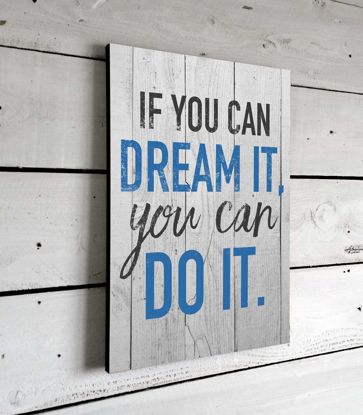 Wall Decor Sayings Awesome Inspirational Quotes if You Can Dream It Wall Art Signs with