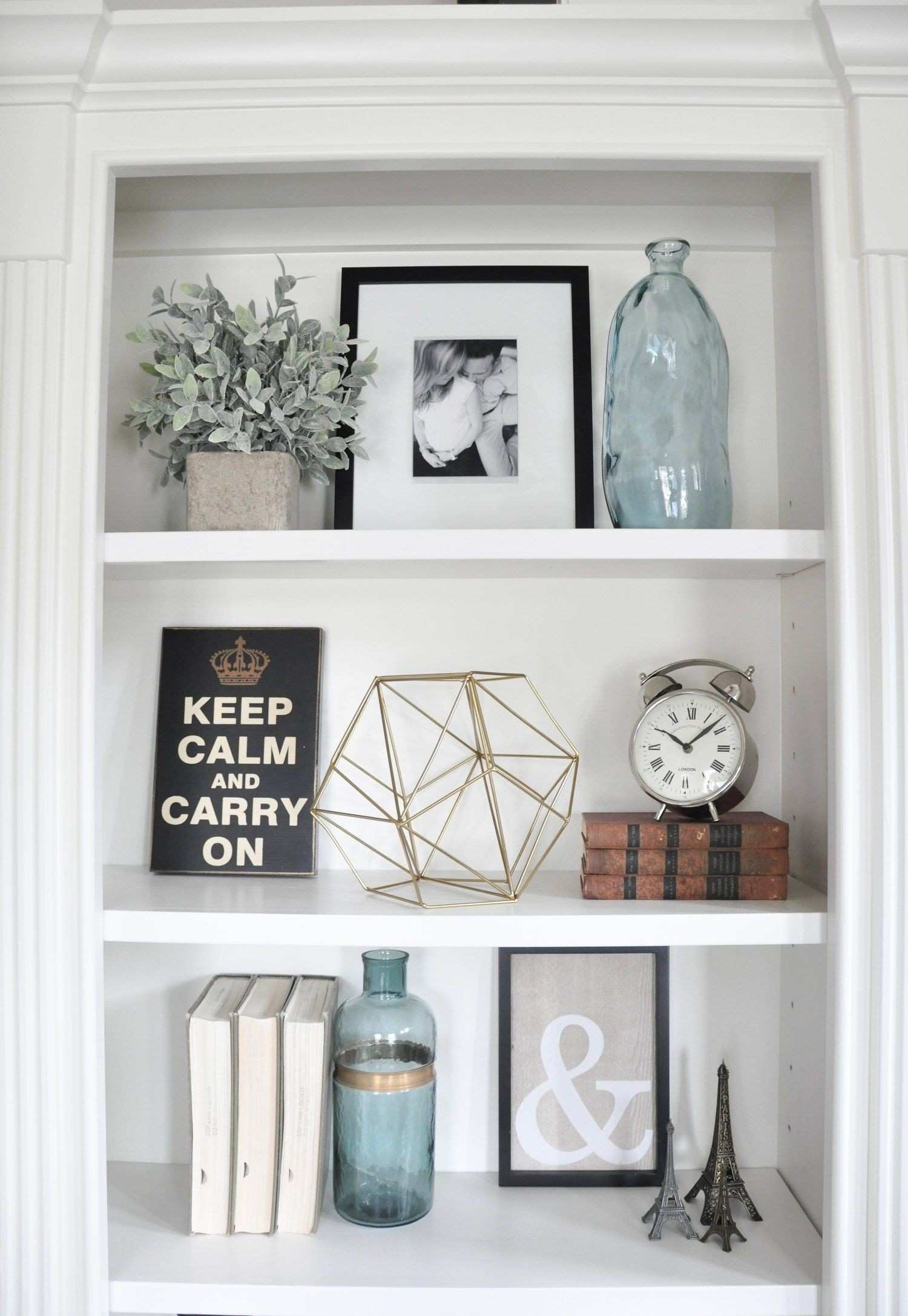 Styling Built Ins Pinterest