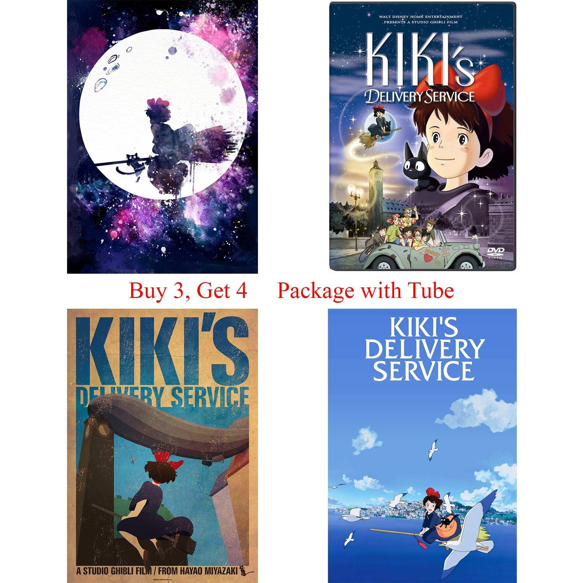 KIKI S DELIVERY SERVICE Posters Cartoon Wall Stickers Girl s Room