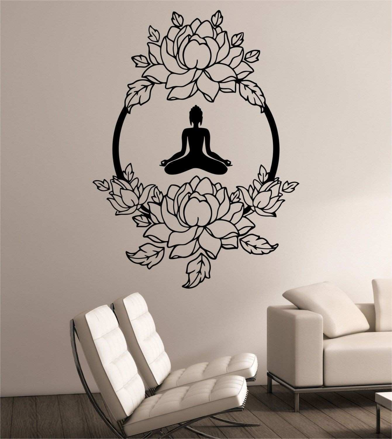 Beige and Blue Living Room Decor Design Fresh Wall Decal Luxury 1