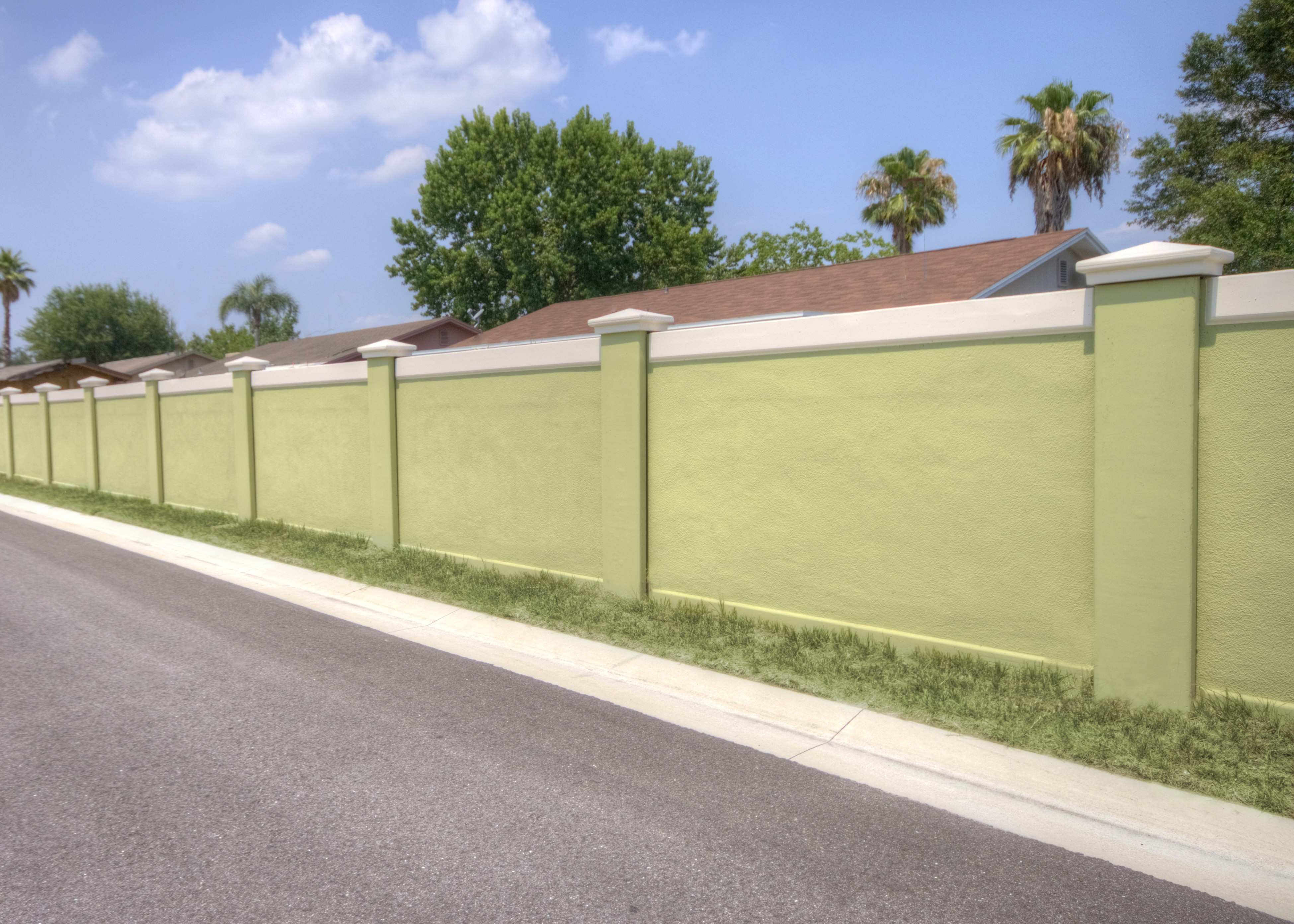 Appealing Wall Fence Designs For Homes Best Picture