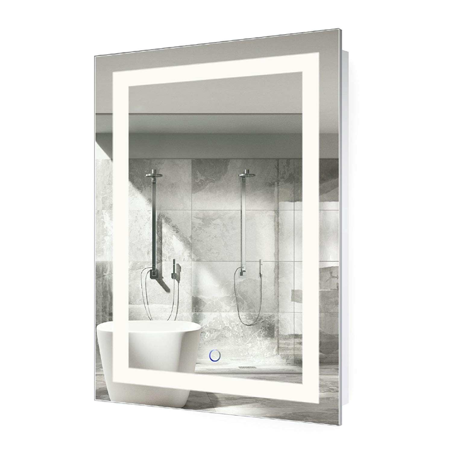 Amazon Krugg LED Bathroom Mirror 24 Inch X 36 Inch