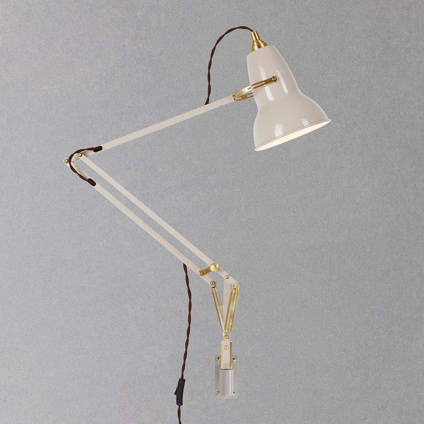 Anglepoise Original 1227 Brass Wall Mounted at John Lewis