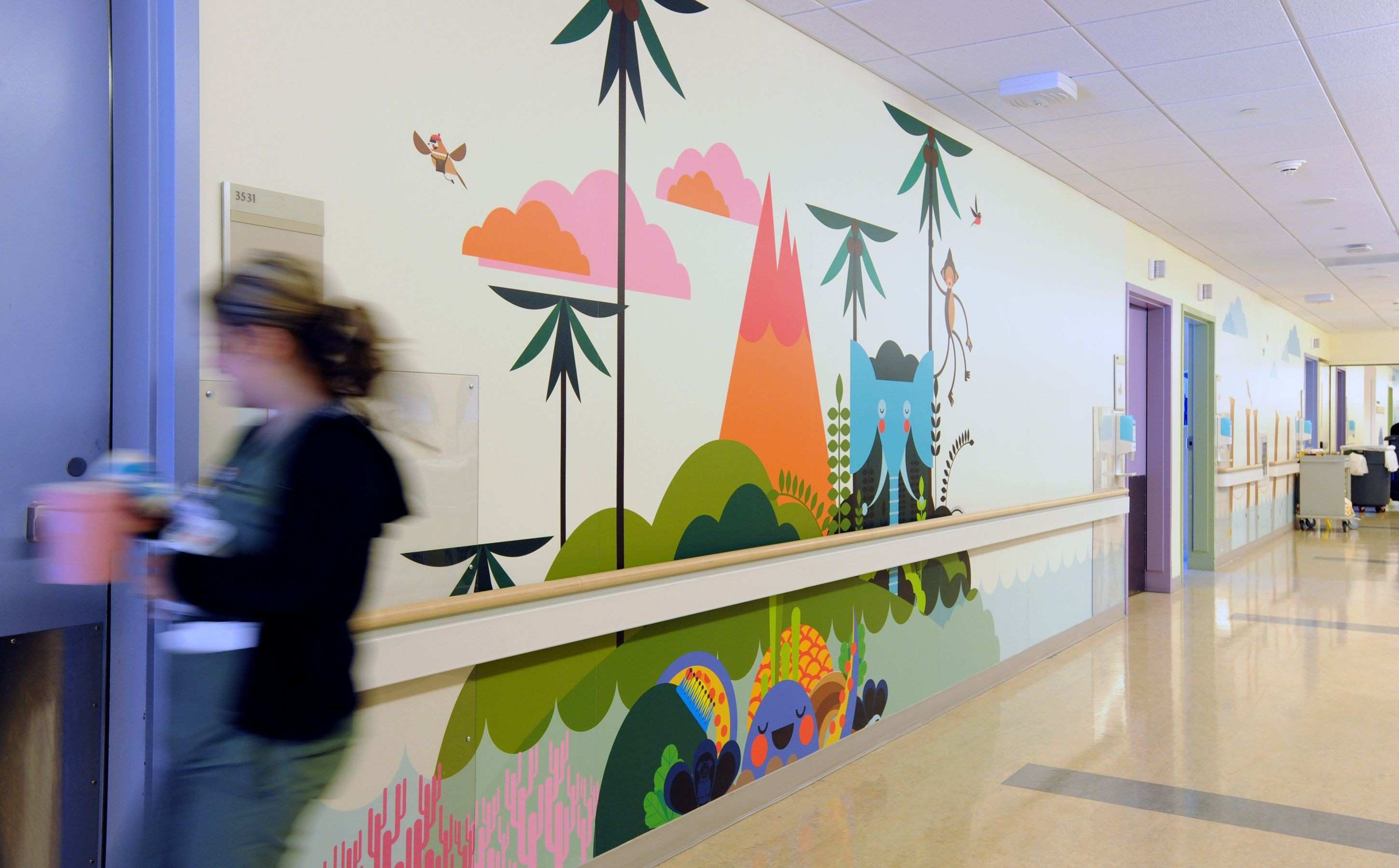 MATTEL CHILDREN S HOSPITAL PHASE 2 Children spaces