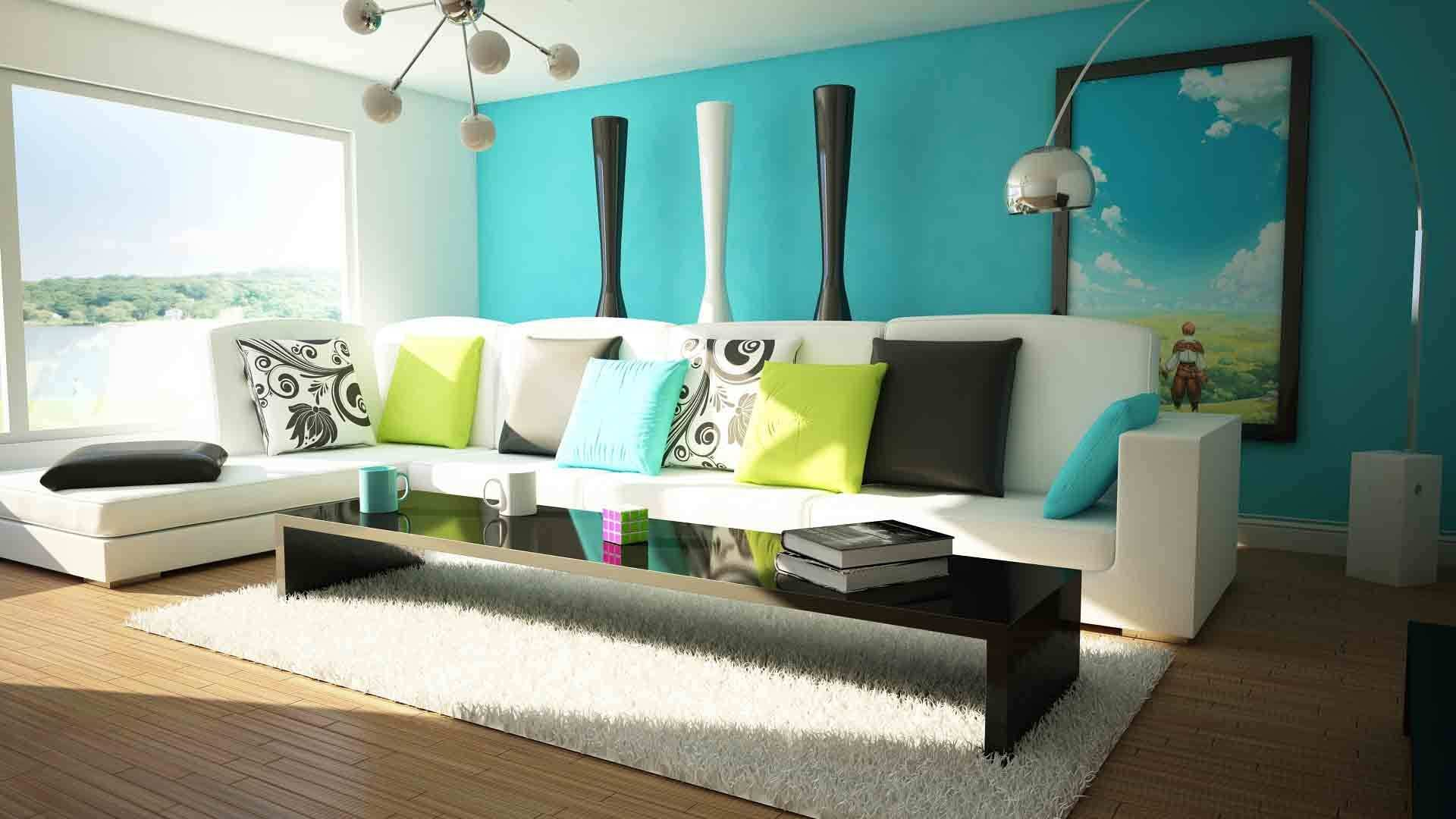 49 Lovely Wall Paint Ideas for Living Room Graphics