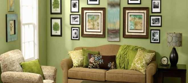 Wall Frames Beautiful Living Room Traditional Decorating Ideas