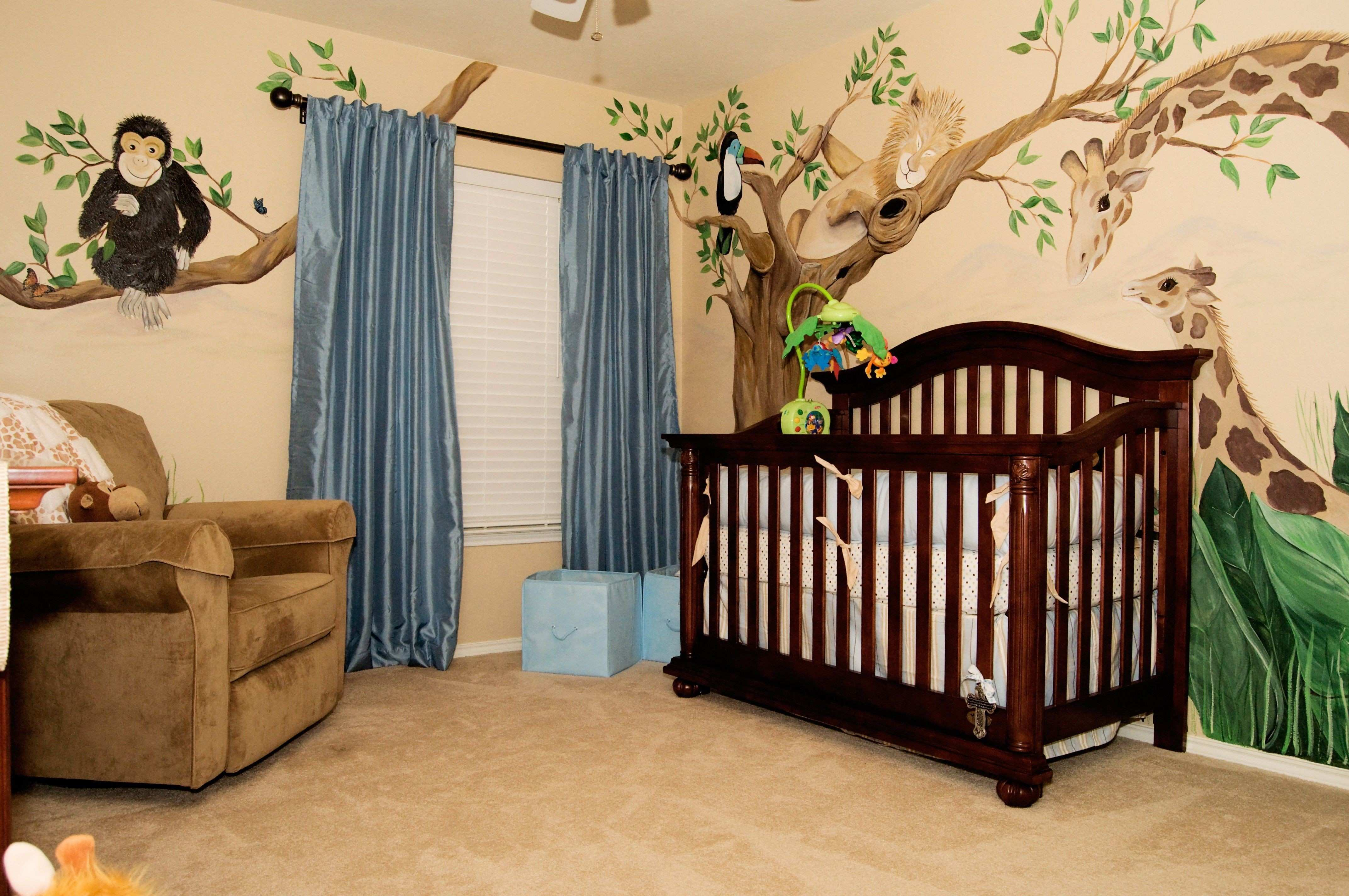 Best Jungle Decals for Baby Room