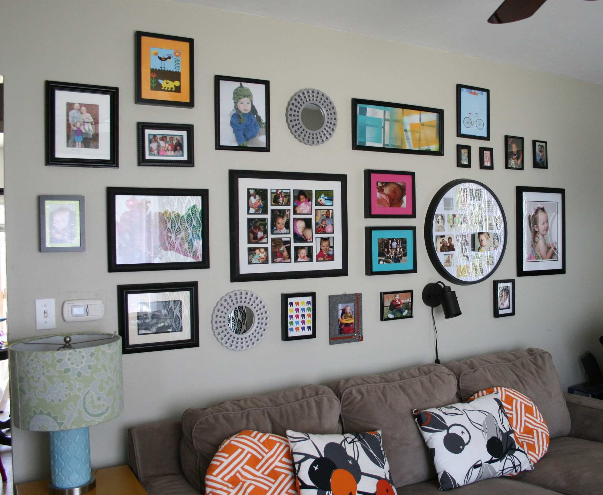 A Growing Gallery Wall