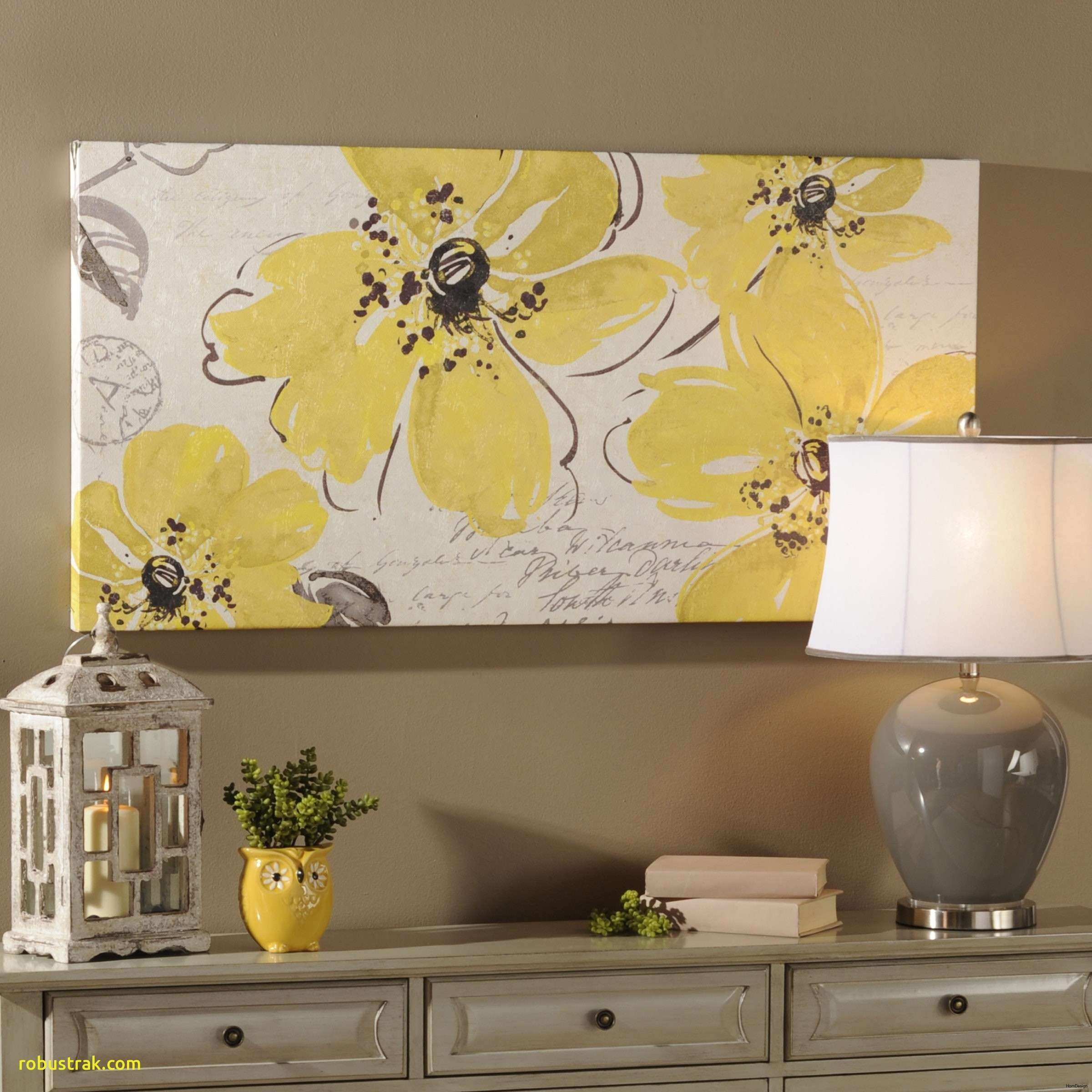 Lovely Yellow Rustic Decor