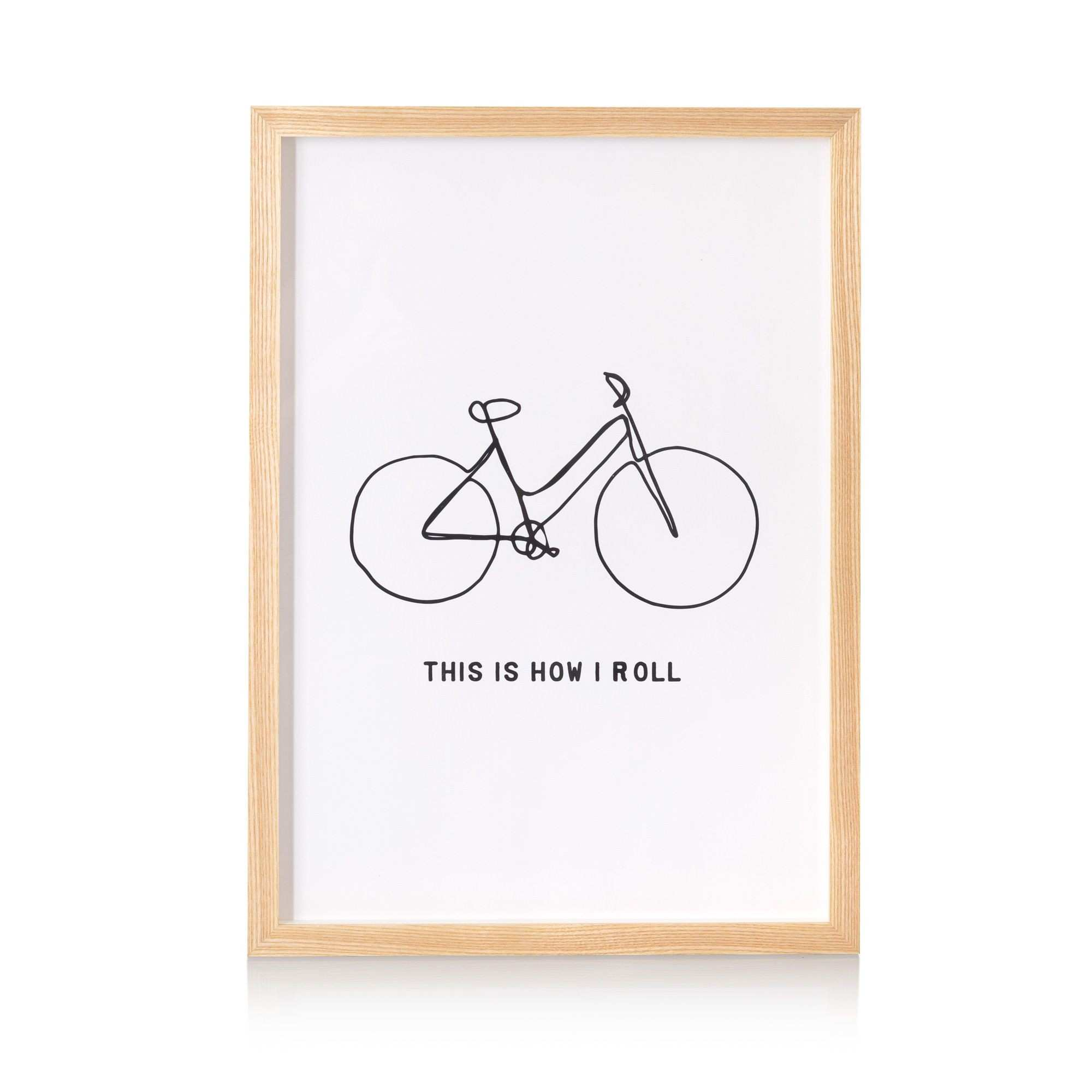 This Is How I Roll Wall Art Pinterest