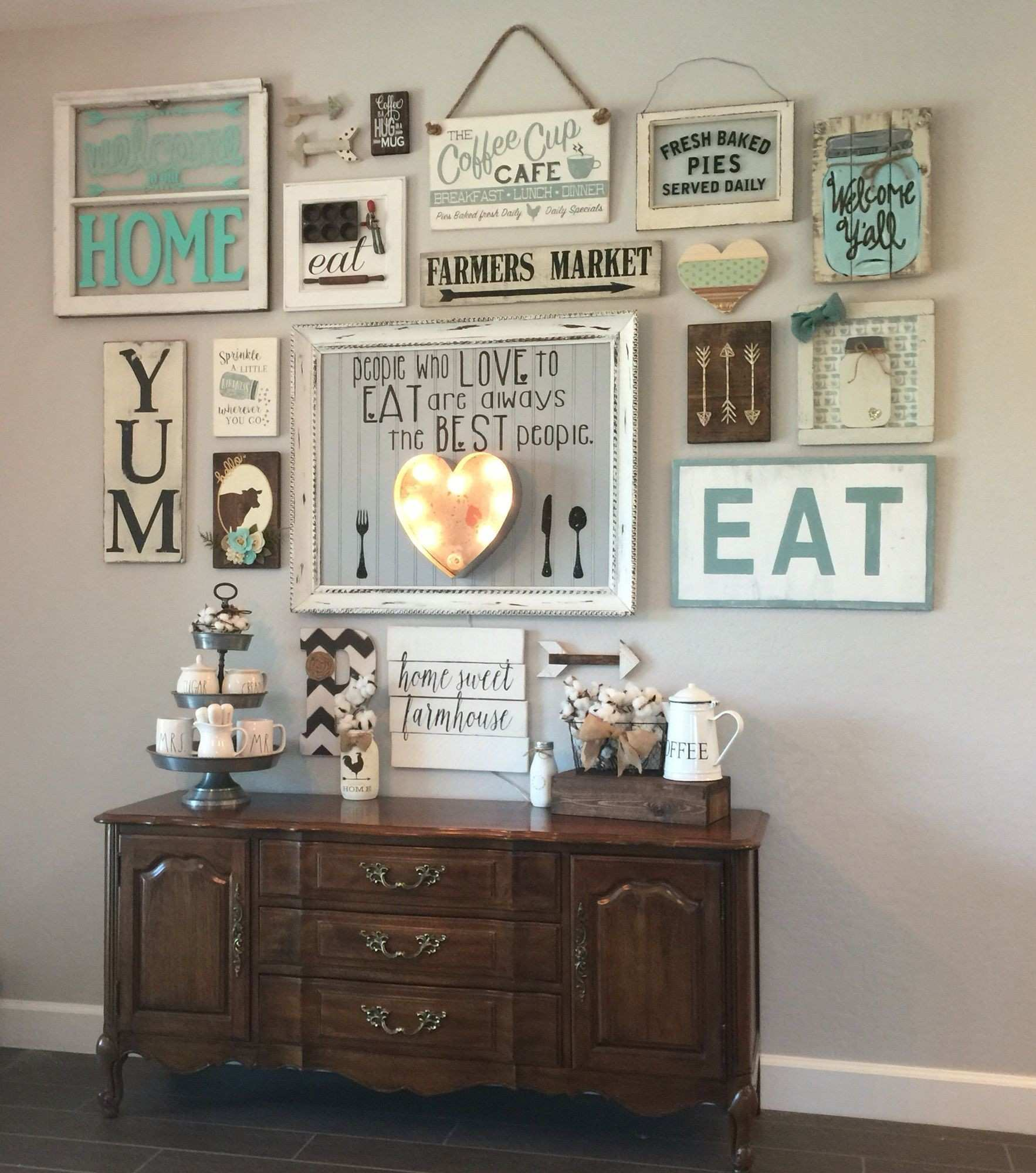 30 Fresh Wall Decor Ideas