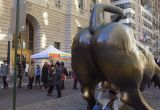 Wall Street Bull Pictures Luxury New York Usa tourists Pose with Famous Wall Street Bull Bronze