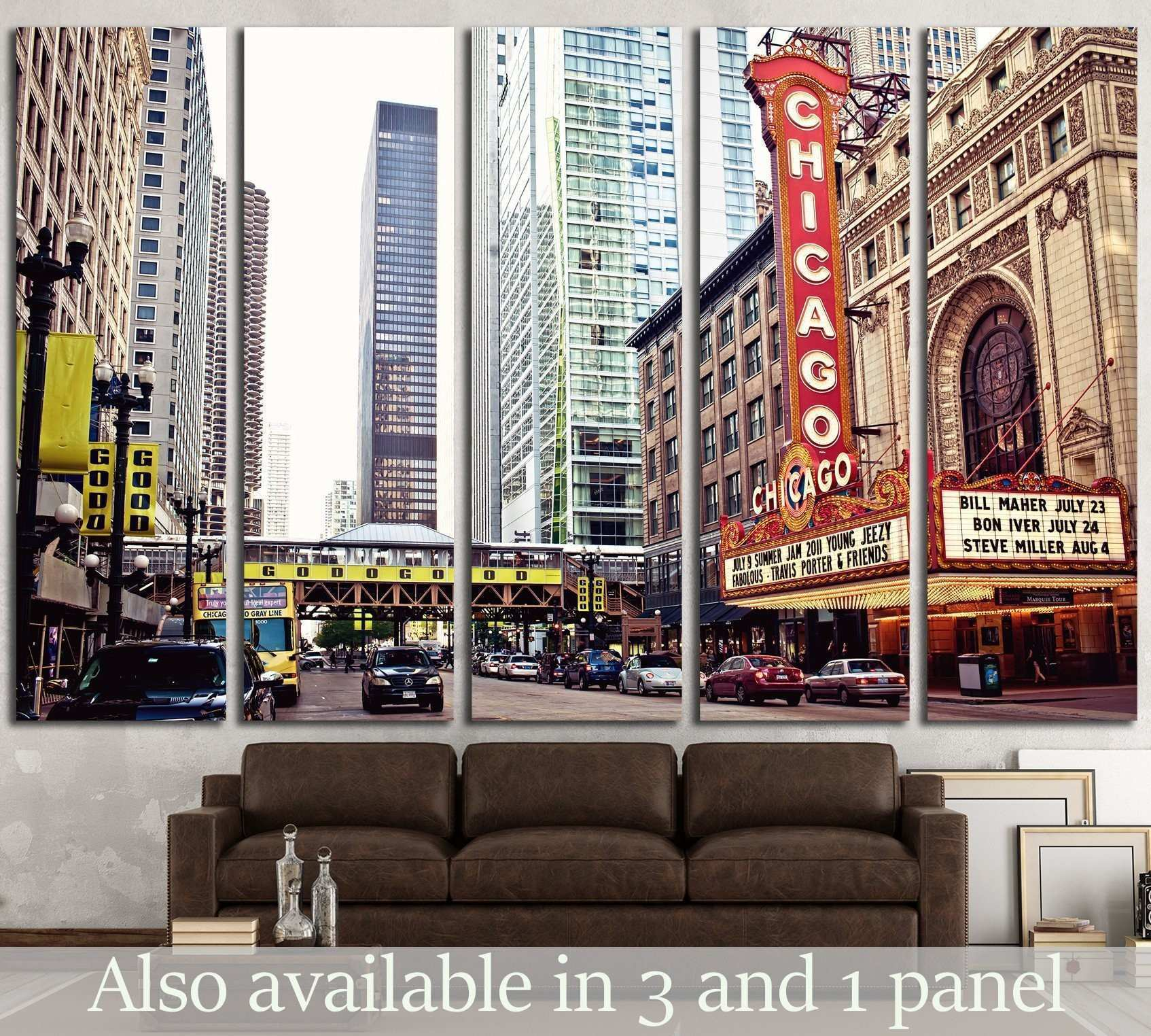 Chicago Theater on State Street Chicago Illinois №2141 Ready to