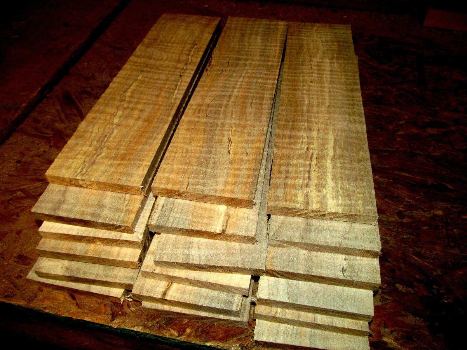 Woodworking Lumber Eighteen 18 Thin Kiln Dried Sanded