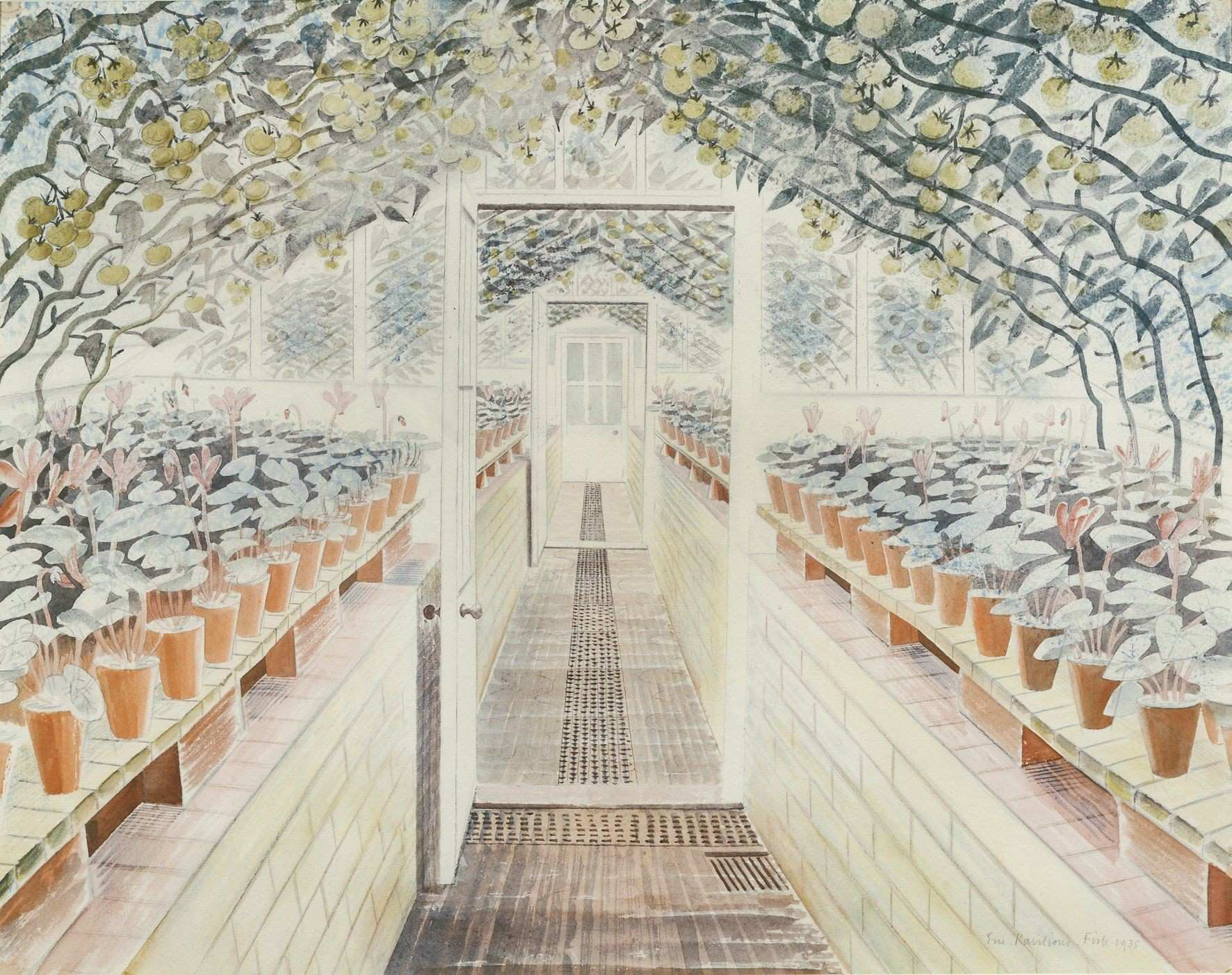 We re Fawning Over The Detailed Art of Eric Ravilious