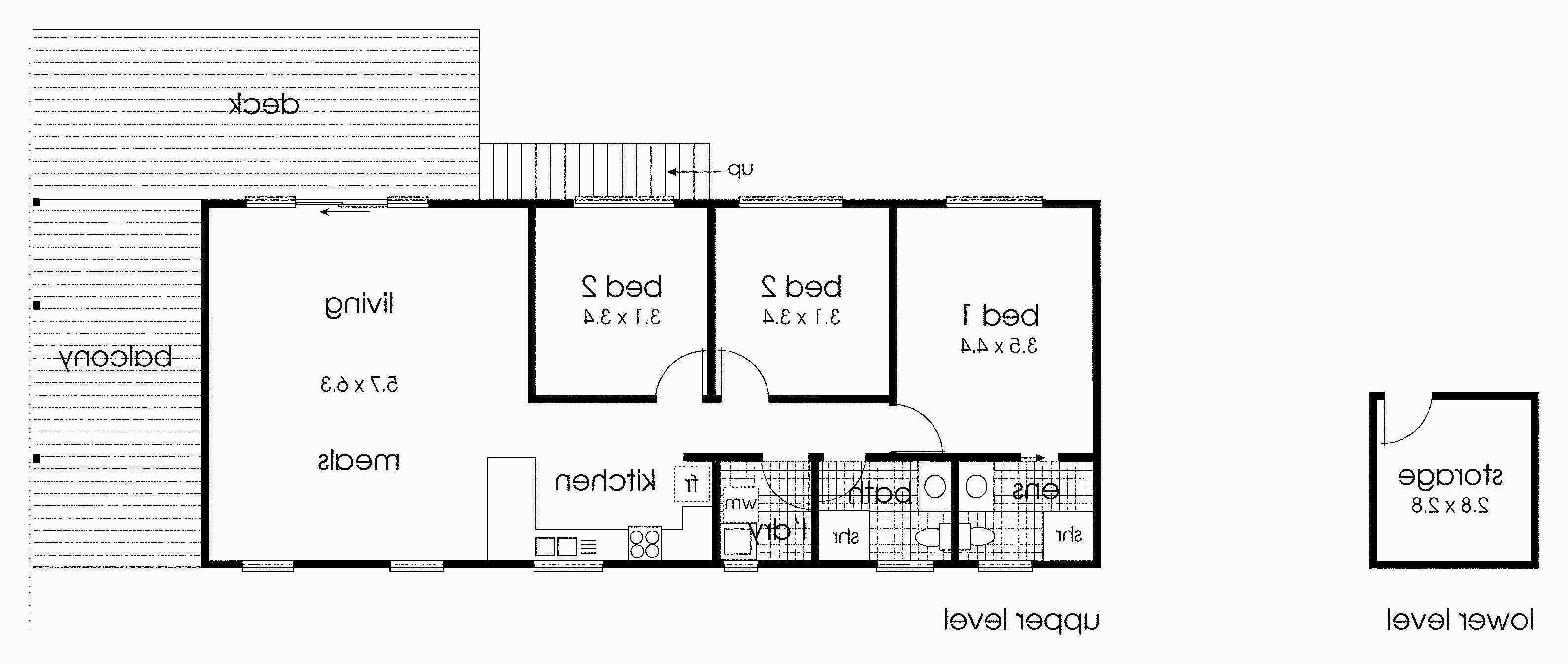 Home Floor Plans with Guest House Fresh House Plan A Frame Plans