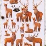 Wildlife Prints Lovely Ac29dc284 Vector Set Quotwinter Forestquot Pinterest Of Wildlife Prints