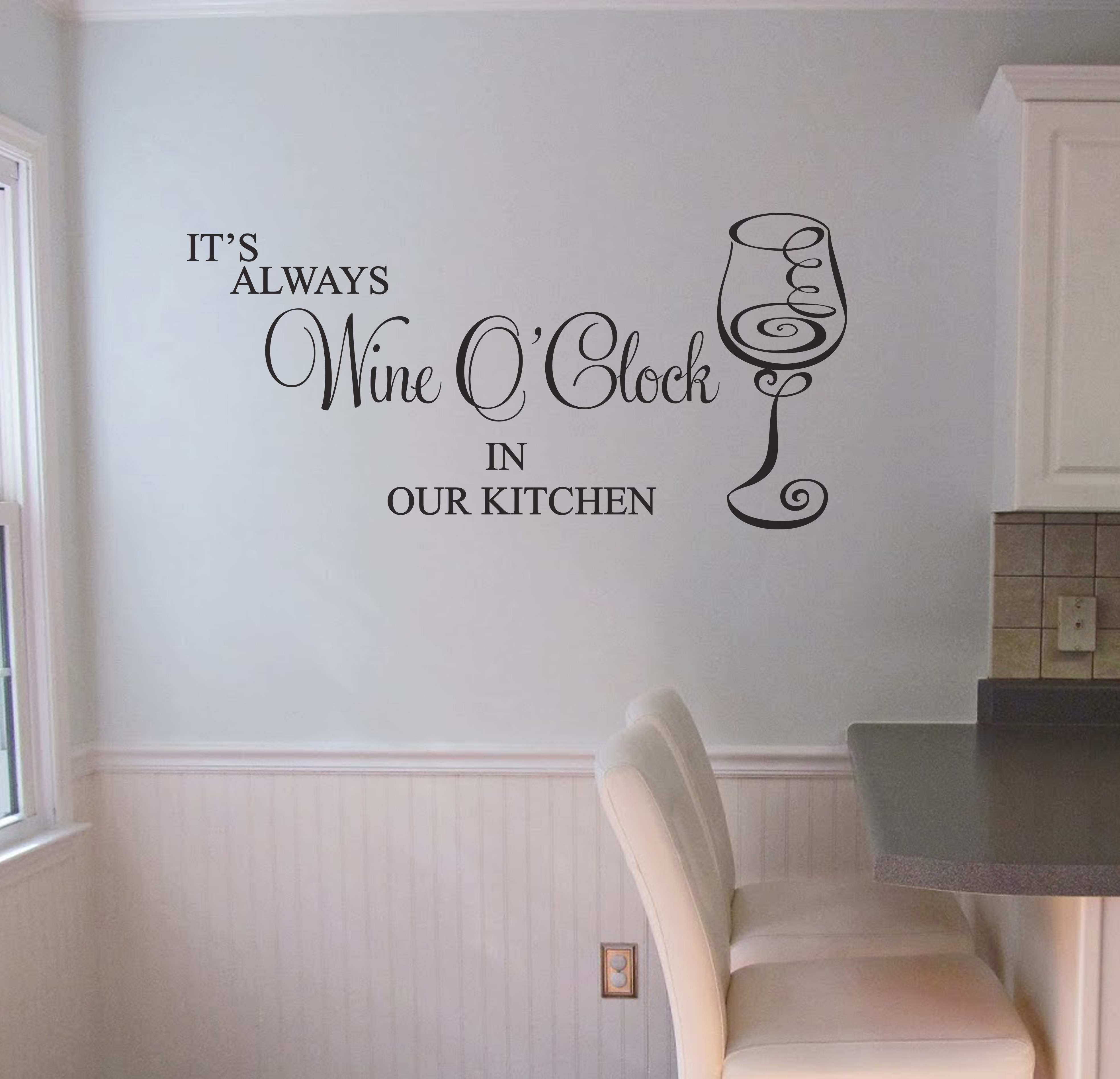 Decor Captivating Kitchen Decals For Wall Kitchen Decoration Ideas