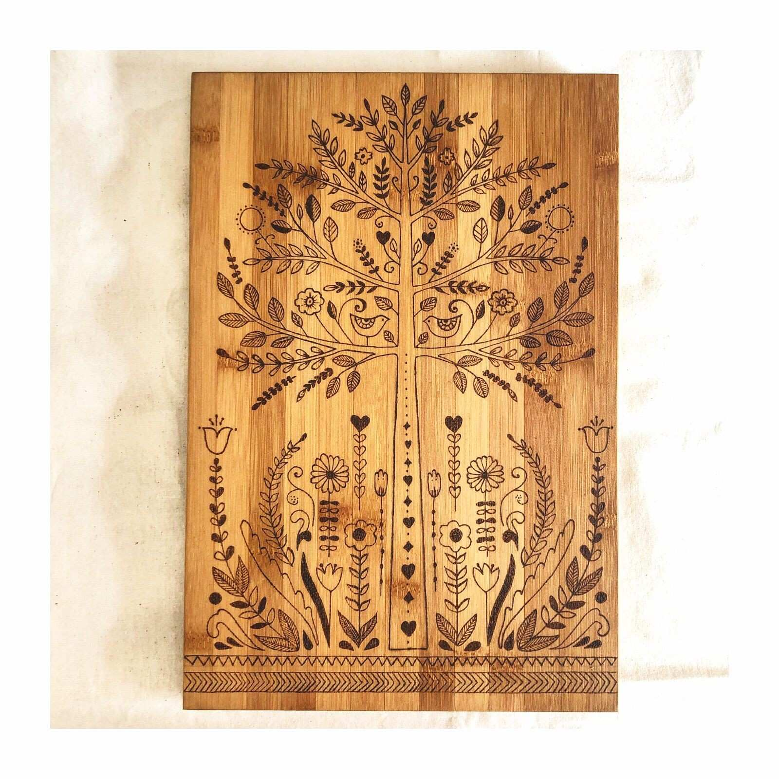Nordic Design Wooden serving board