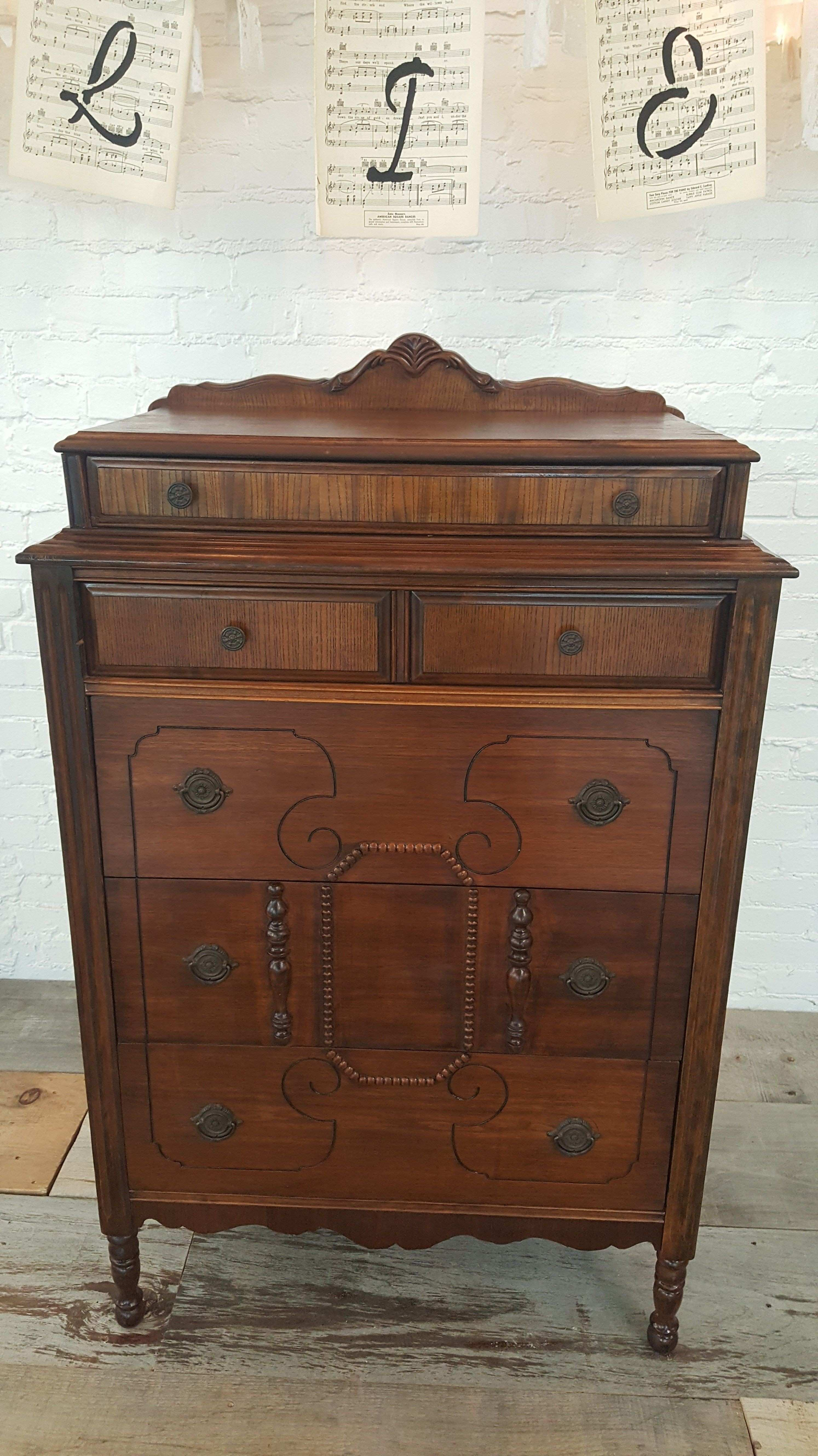 Great original piece available this Vintage Victorian Chest Dresser