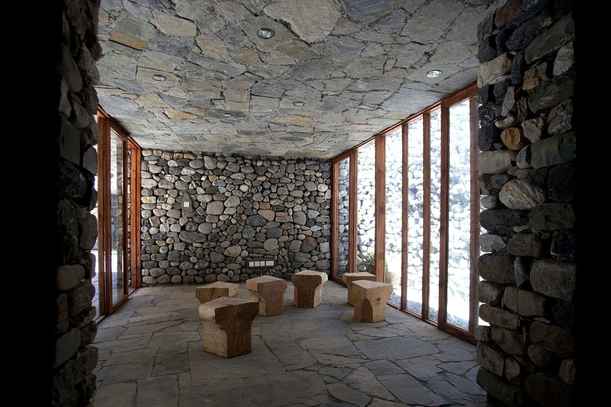 30 Best Design Interior Stone Wall