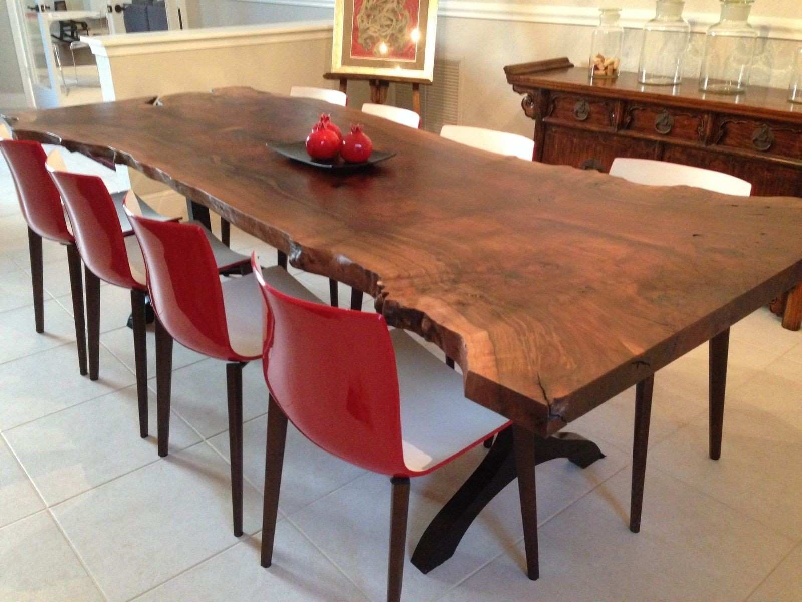 Awesome Slab Dining Room Table s Home Design Ideas