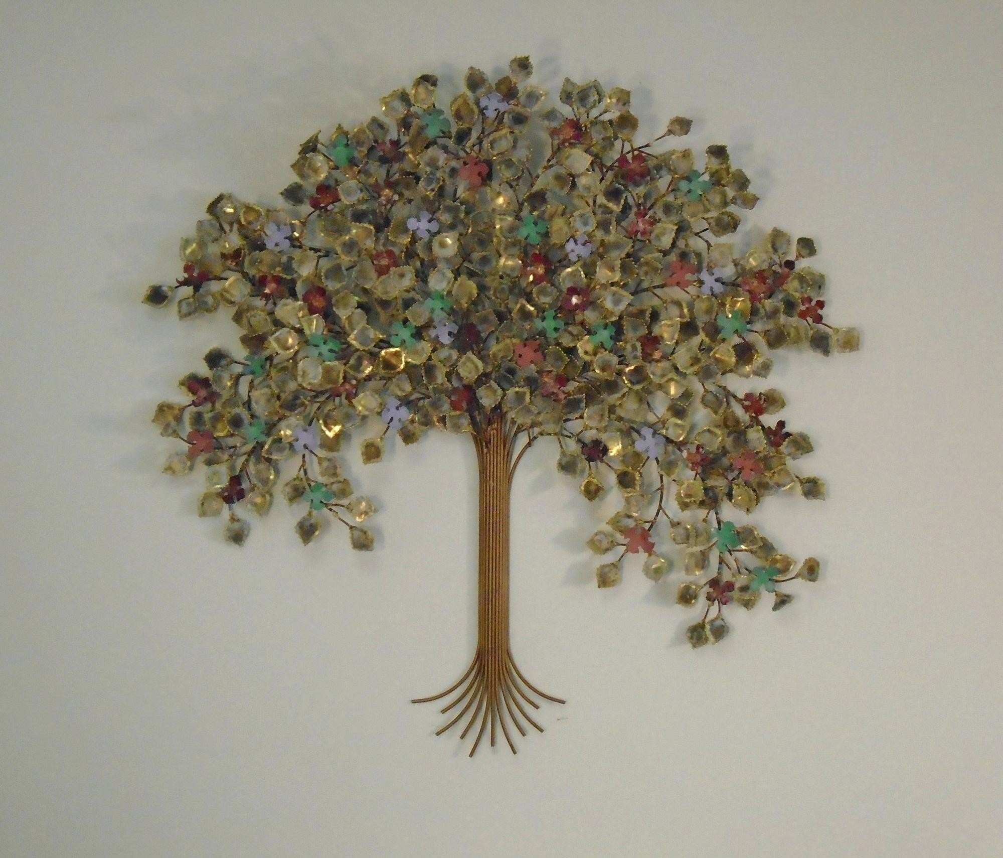 Alluring Metal Home Decor 22 Tree Life Wall Willow Art Living