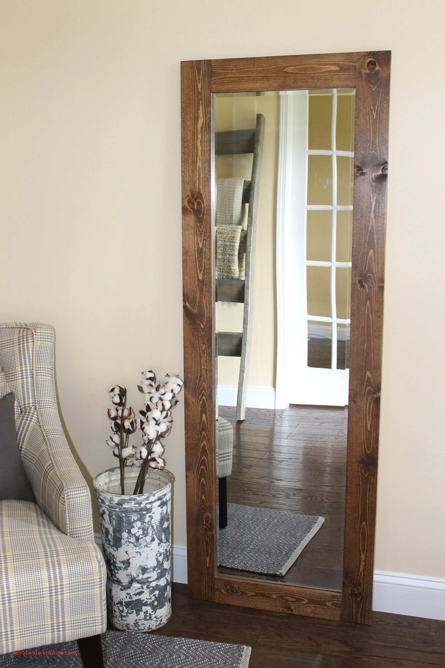 Top Result Diy Wood Frame for Mirror Inspirational Stunning Rustic