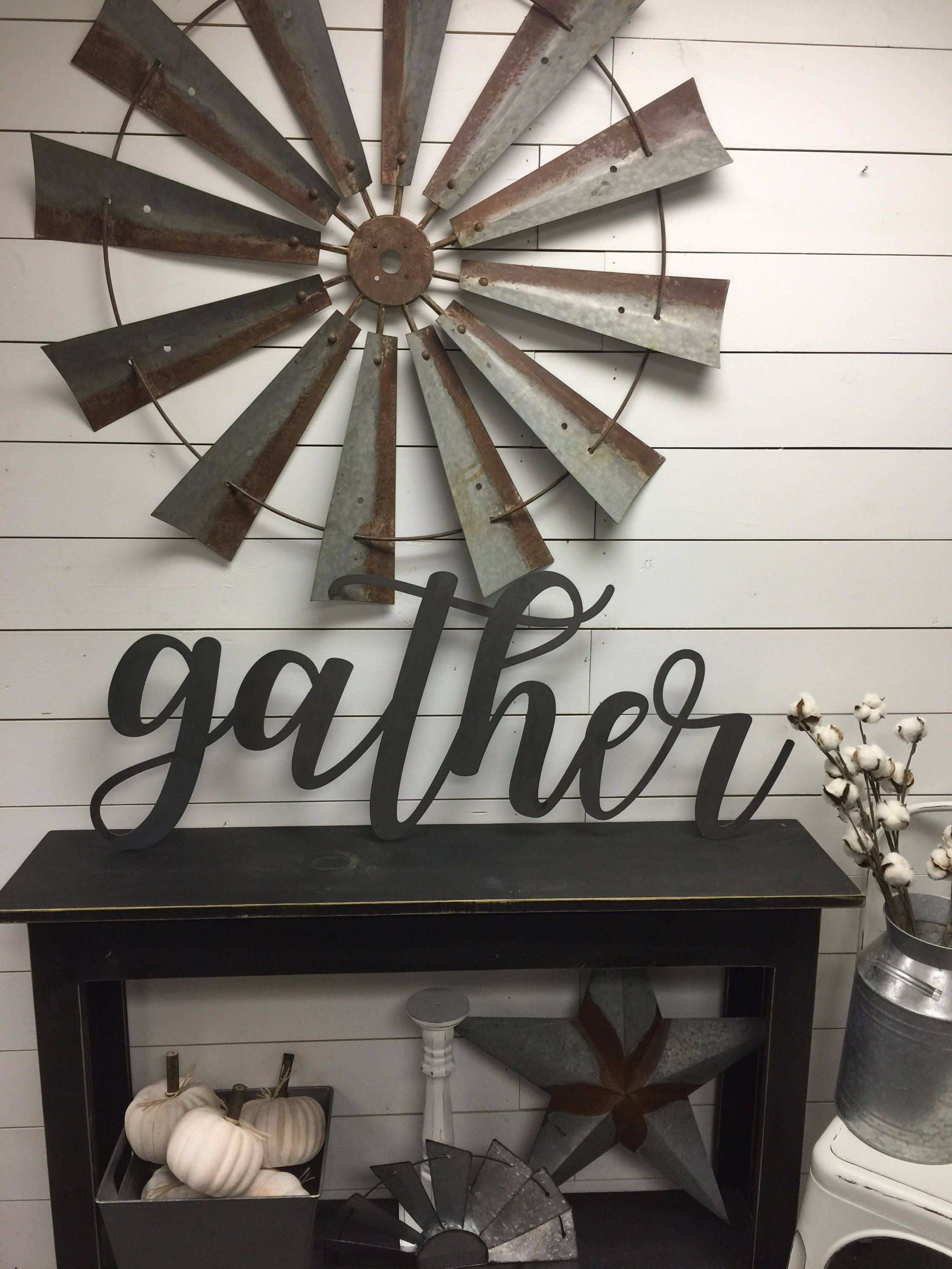 Gather Sign Wood Gather Sign Rustic Farmhouse Decor Wood Sign