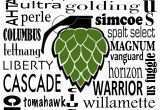 Word Art for Walls Awesome for the Hubby Hops Word Art Pinterest