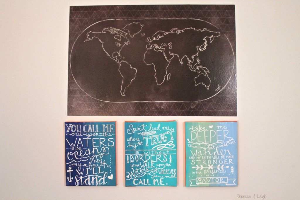 Free Download Image Beautiful World Map Canvas Wall Art 650 434