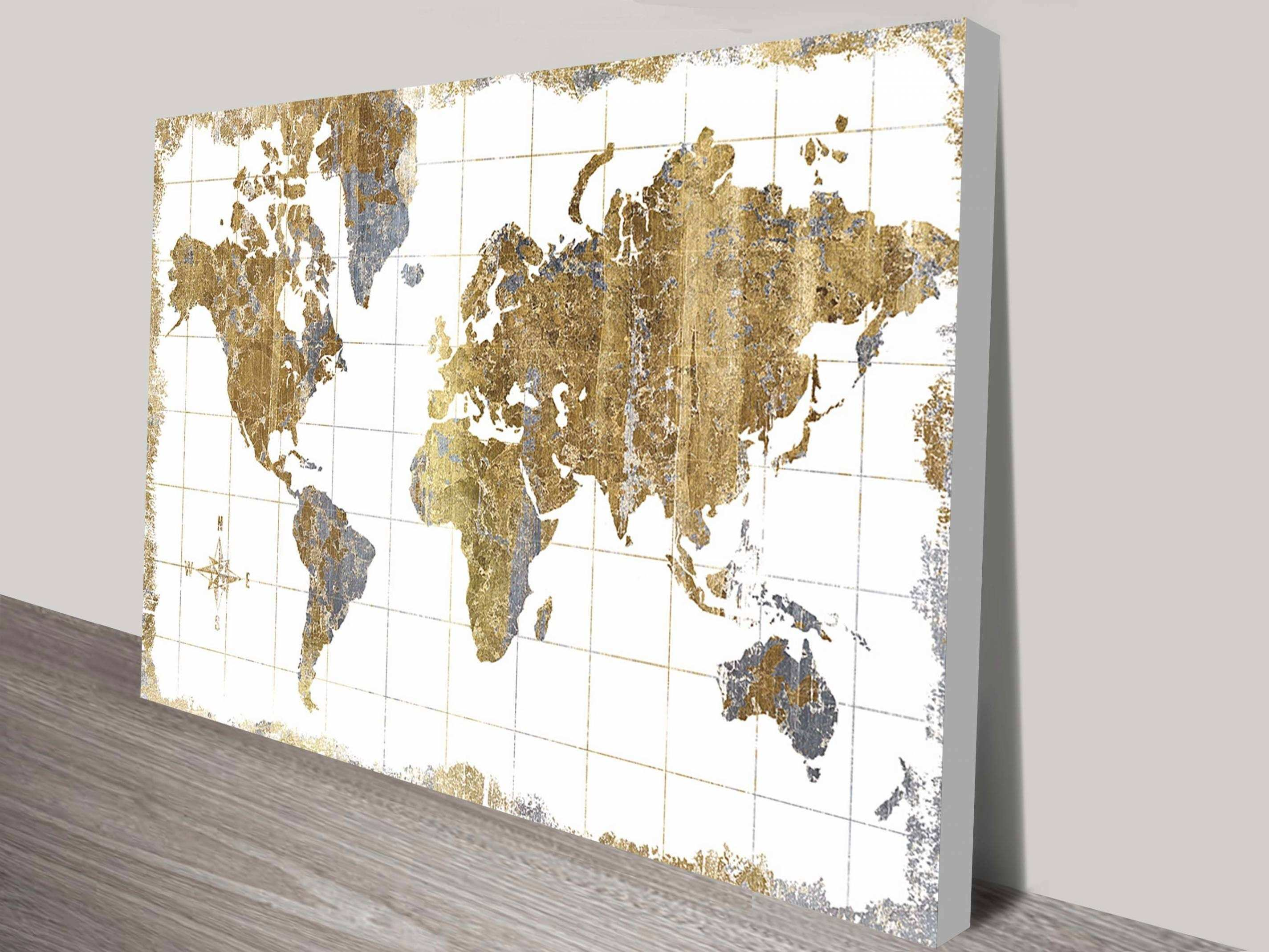 Gallery of Painting The World Map Viewing 7 of 20 s