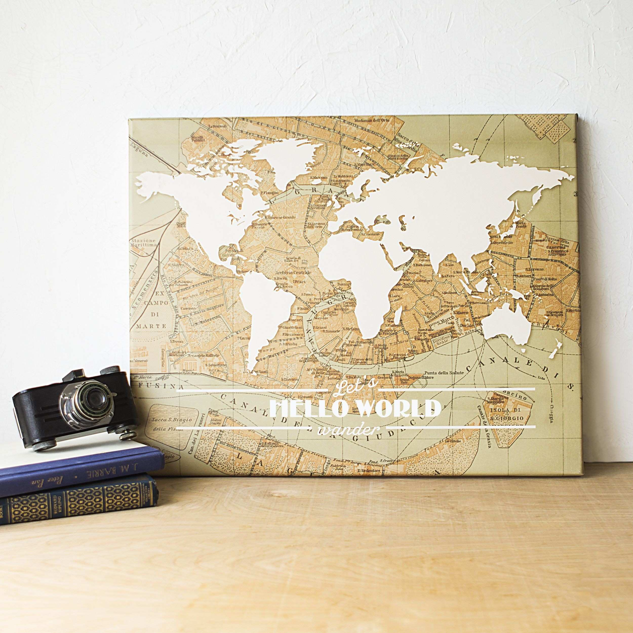 Travel the World Gallery Wrapped Canvas Products