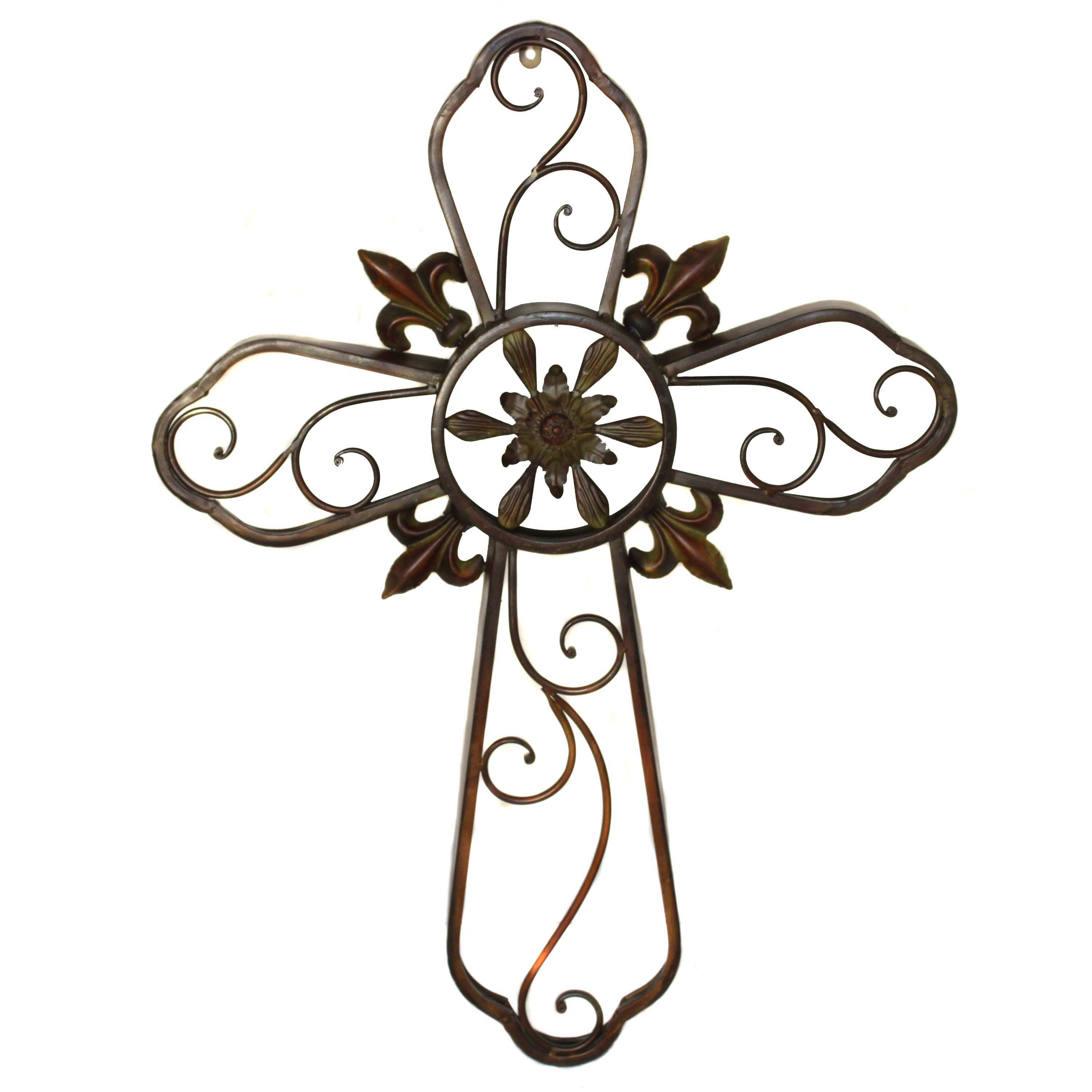Metal Cross Wall Art Elitflat