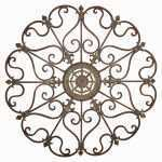 Fresh Wrought Iron Fleur De Lis Wall Decor