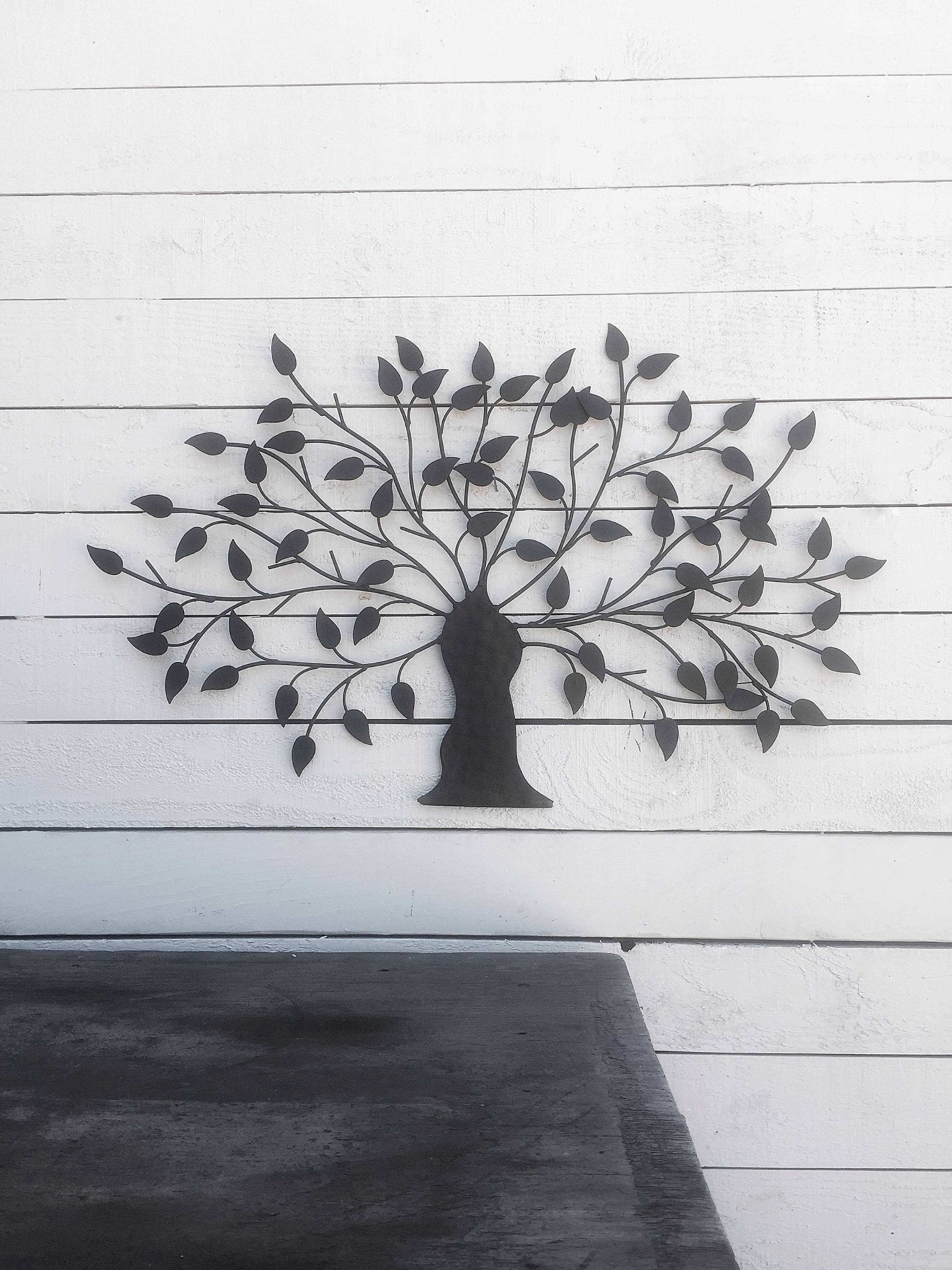 34 Unique Outdoor Wrought Iron Wall Art