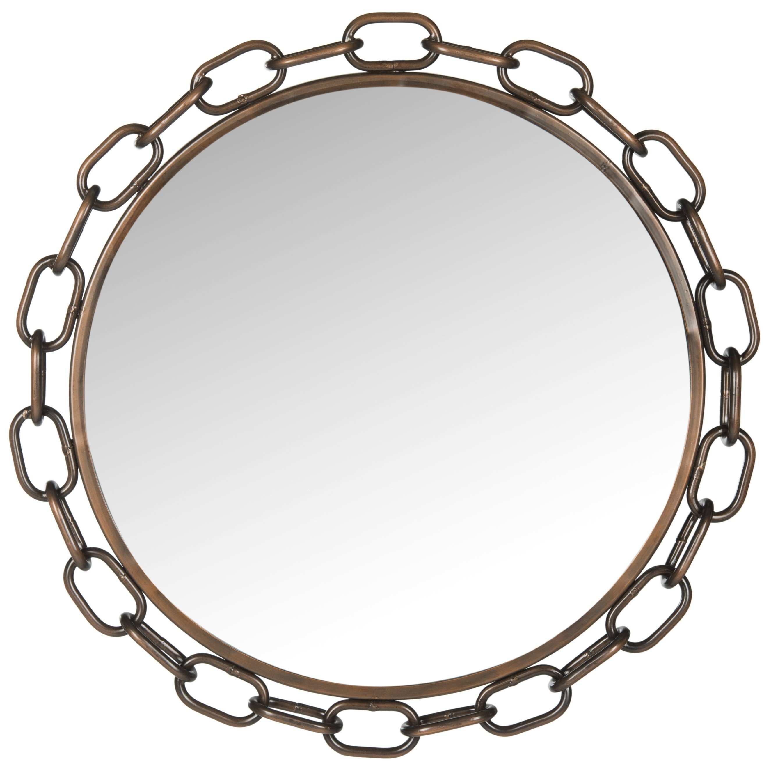 Safavieh Atlantis Chainlink Wall Mirror & Reviews