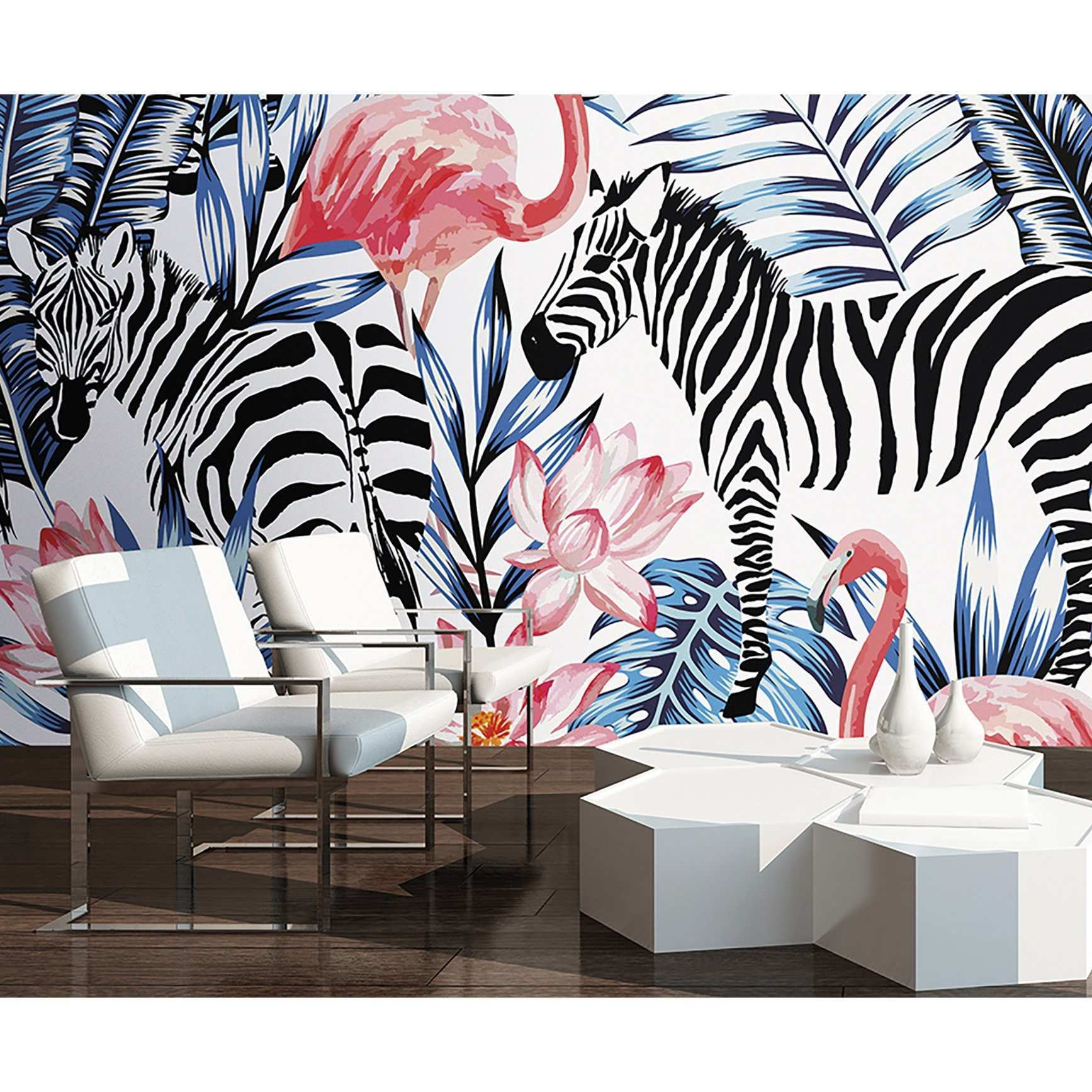 Leopard Print Wallpaper For Walls Brewster Home Fashions Zebra And